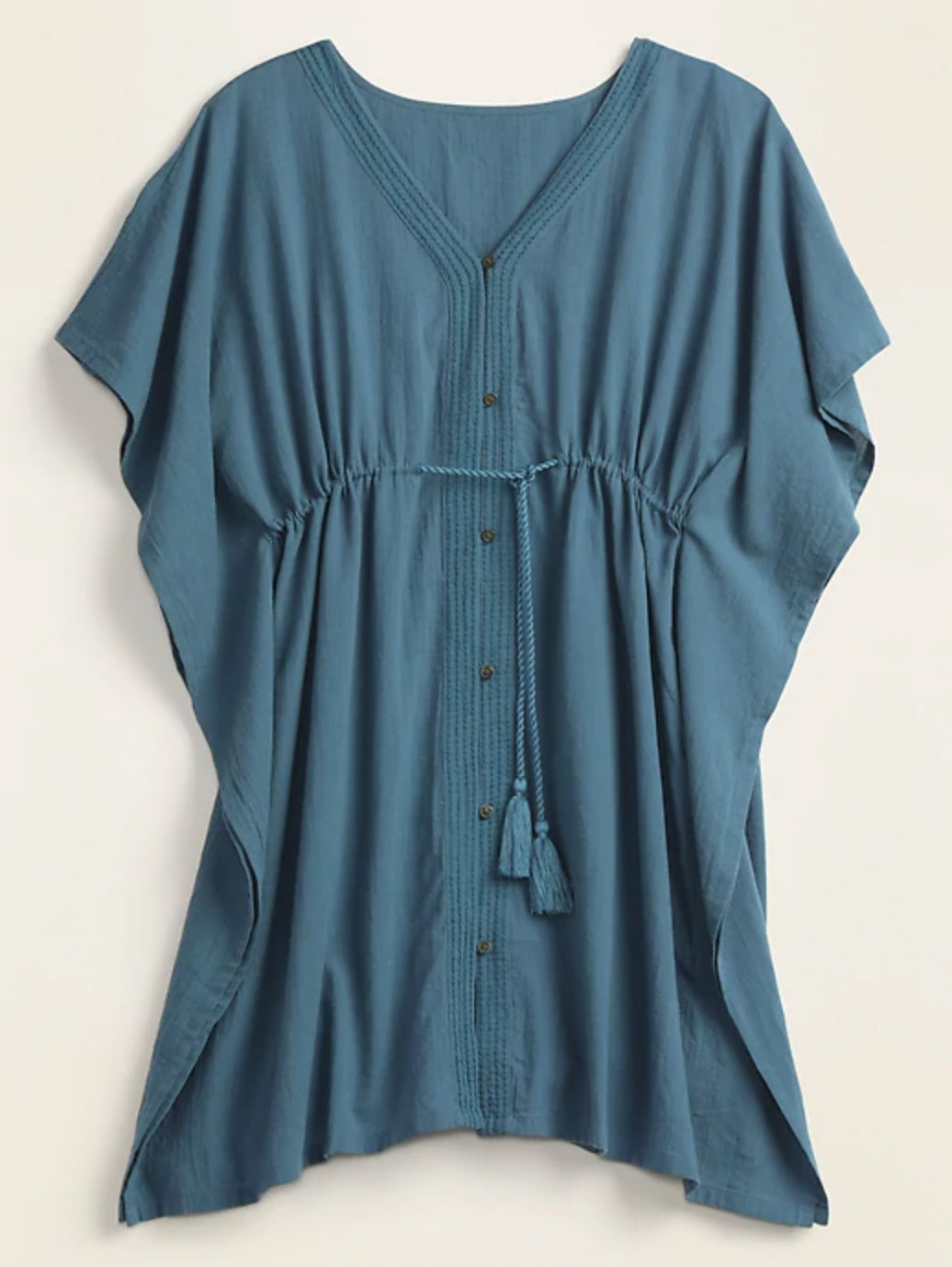 Buy It: $27; oldnavy.gap.com                                       The empire waist flatters while the batwing sleeves keep the breeze coming. Who ordered a poolside cocktail? Over here, please!
