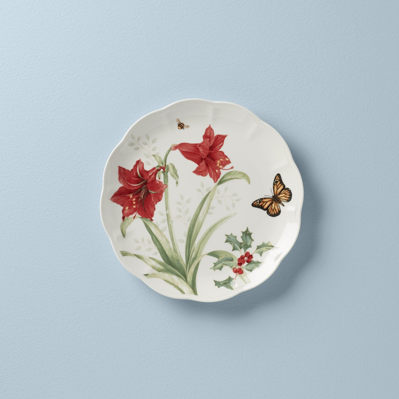 Lenox Butterfly Meadow Holiday Amaryllis