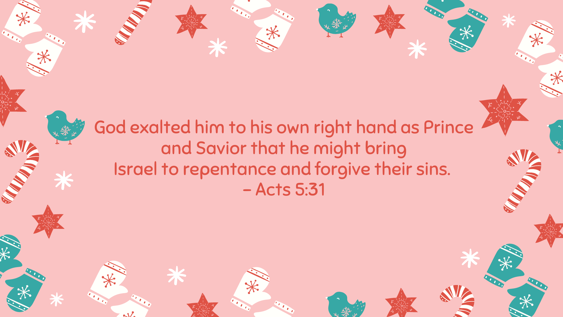 Acts 5:31