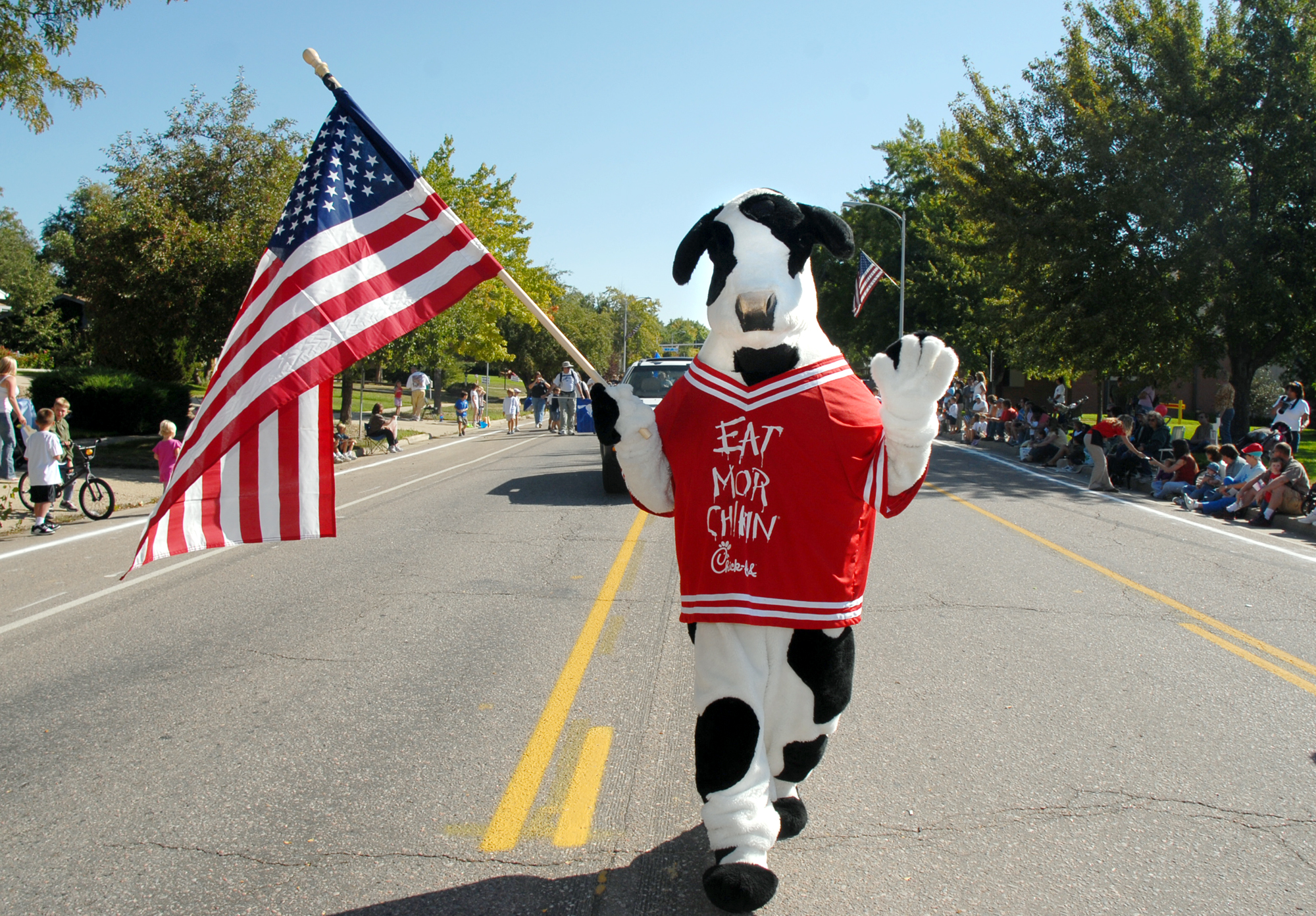 Daily Camera Archives Cow Costume Chick-fil-A
