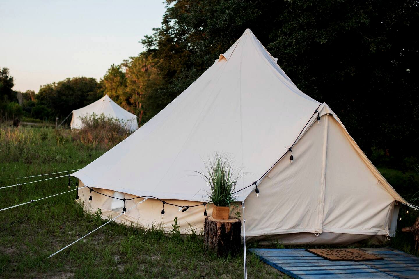 Bell Tent Glamping Flordia