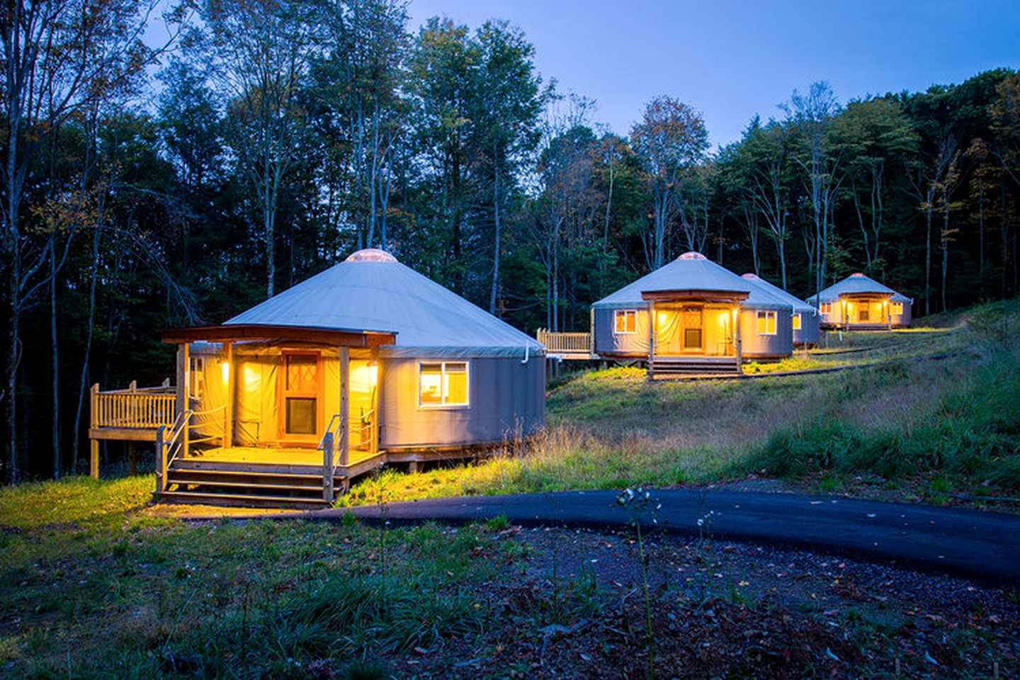 Maryland Glamping Yurt