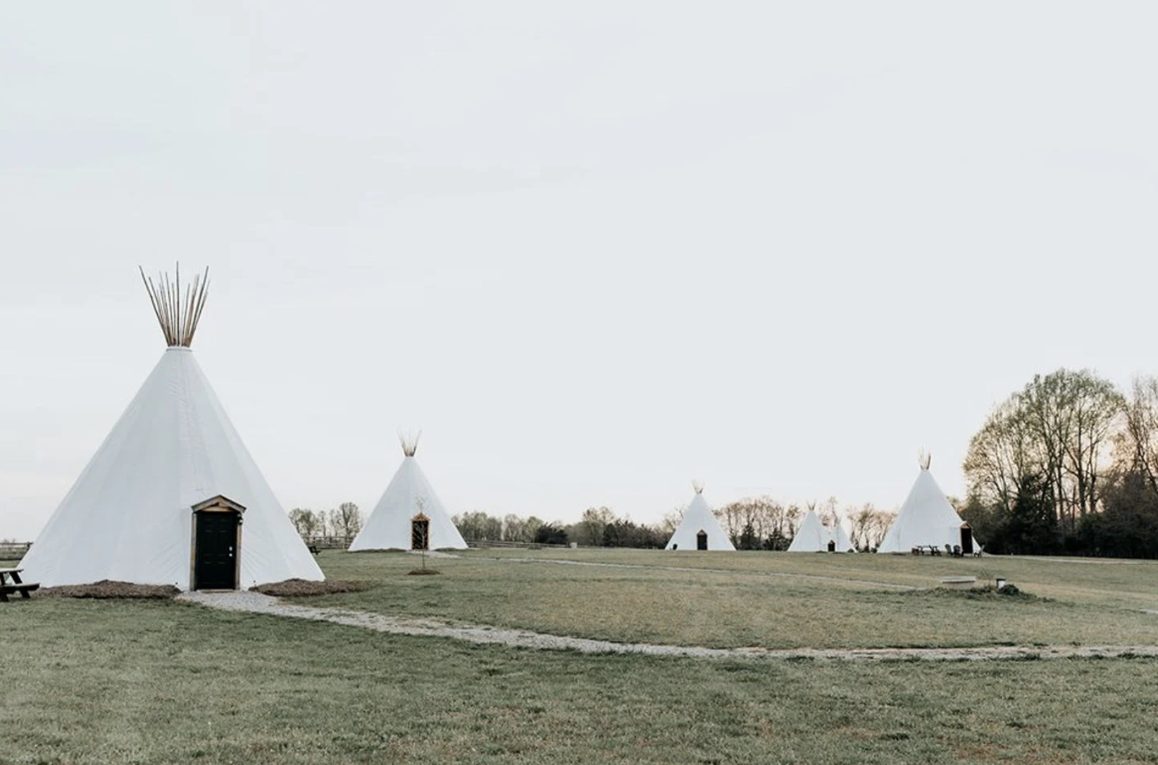 Virginia Tipi Glamping