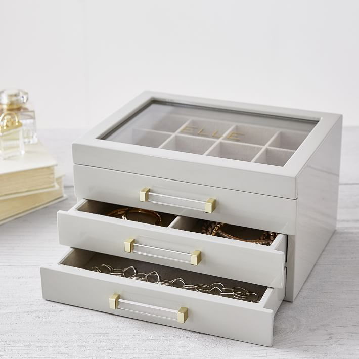 Lacquer Jewelry Display Box