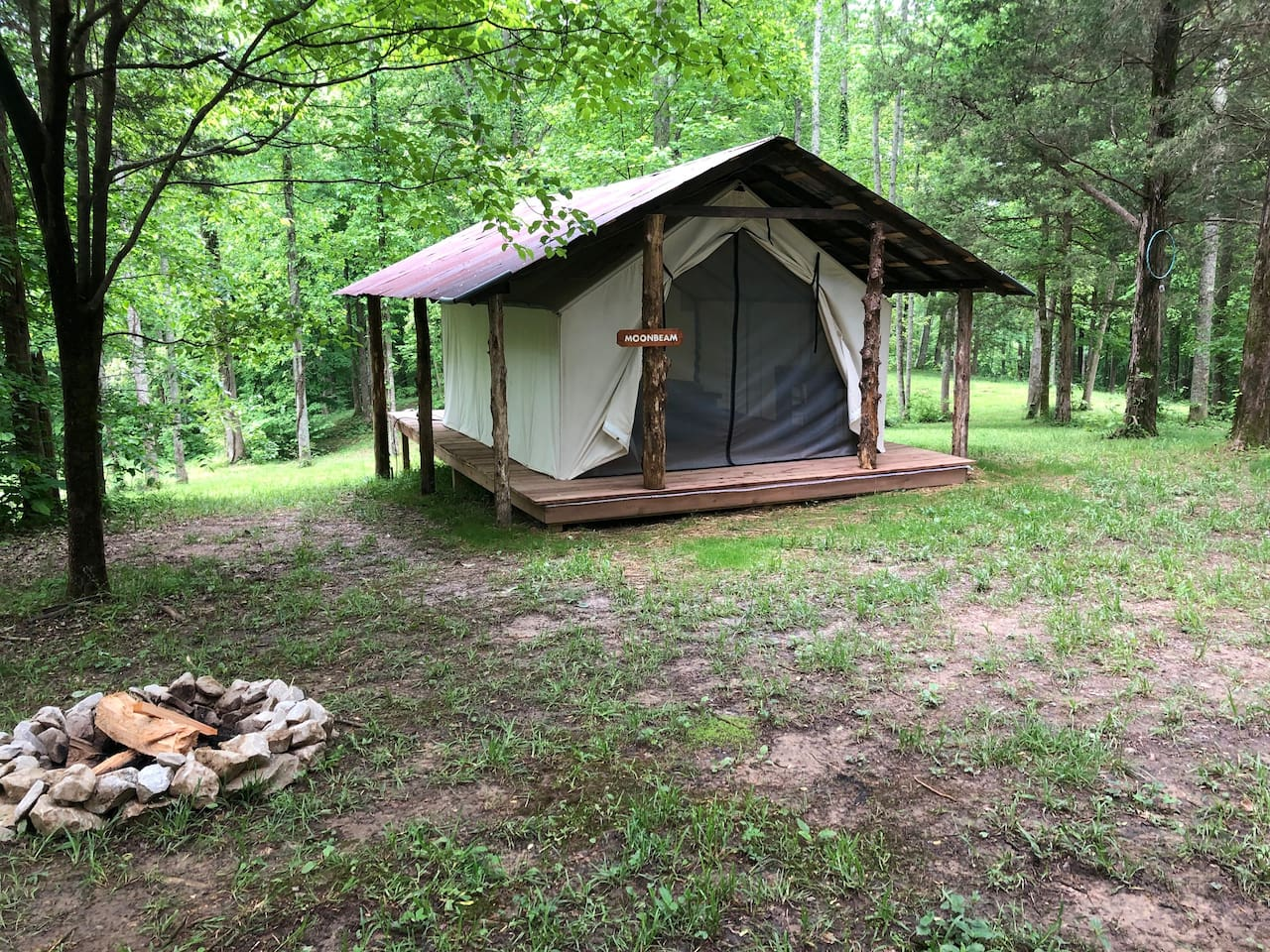 Kentucky Glampsite