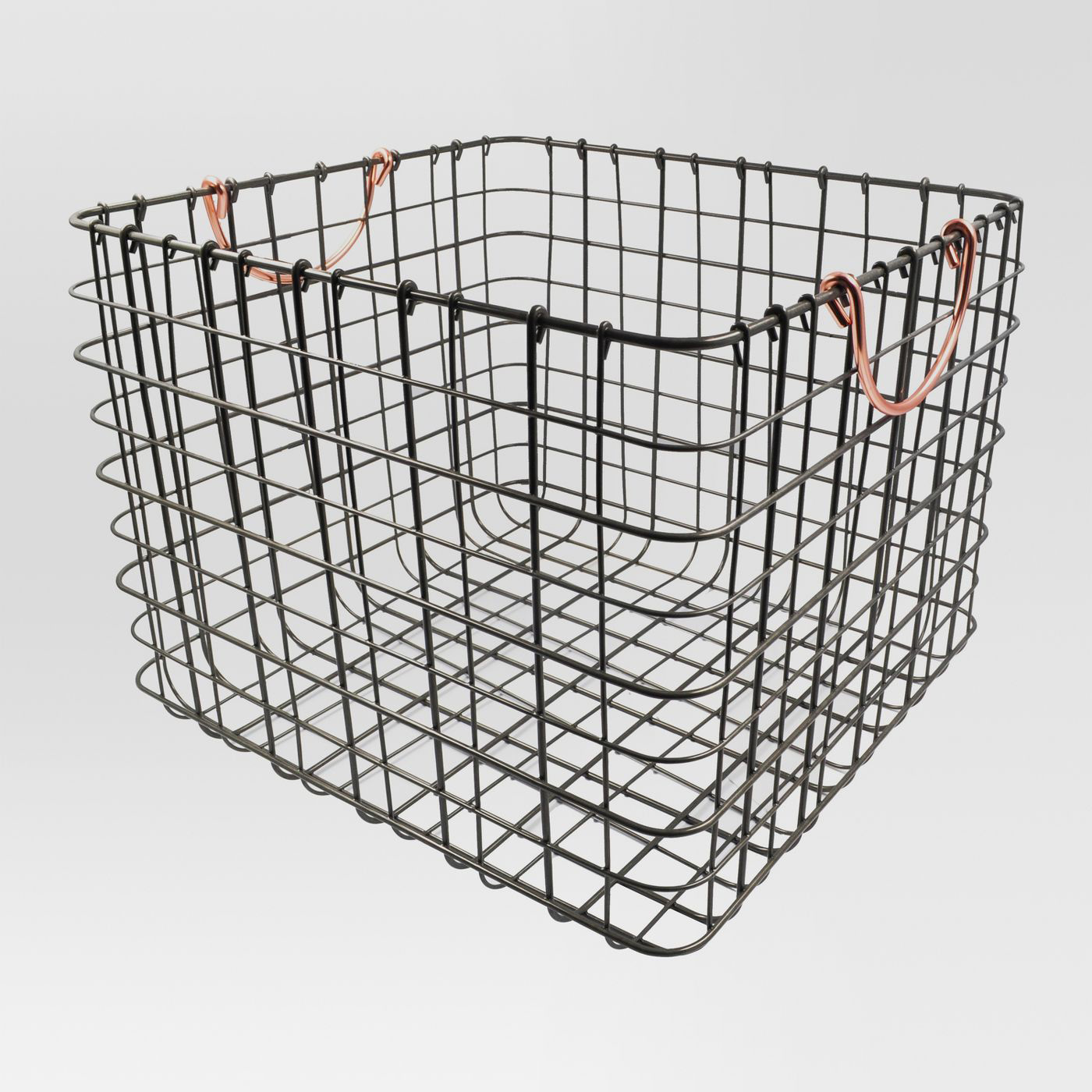 Large Wire Milk Crate