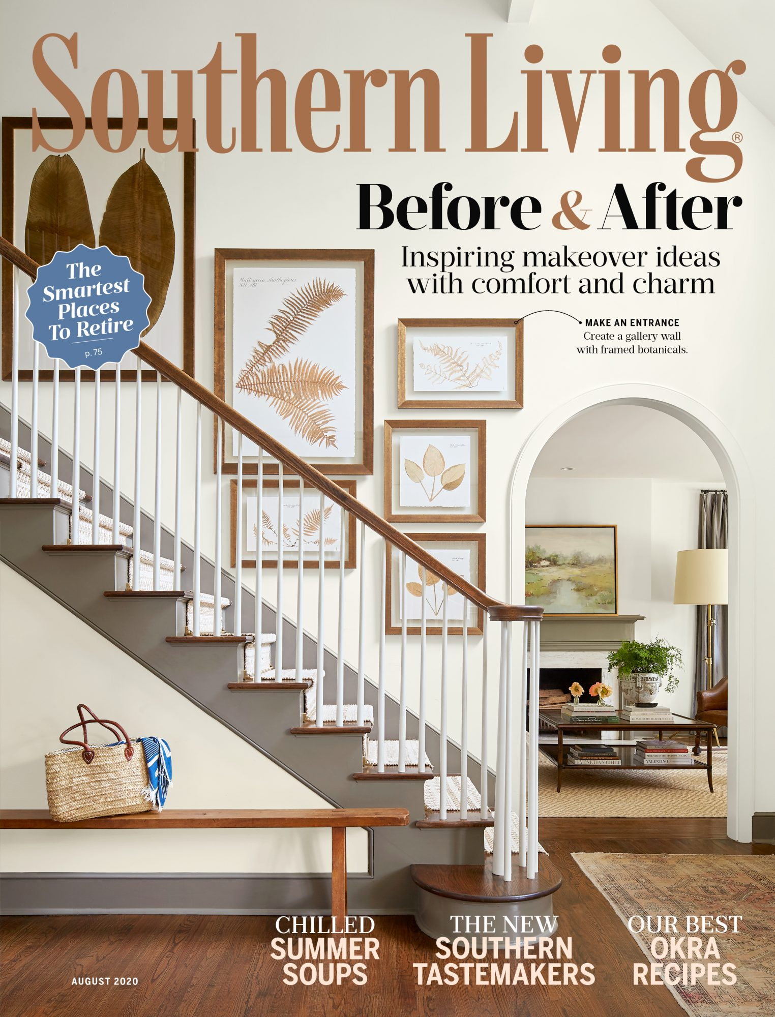 Southern Living August 2020 Cover