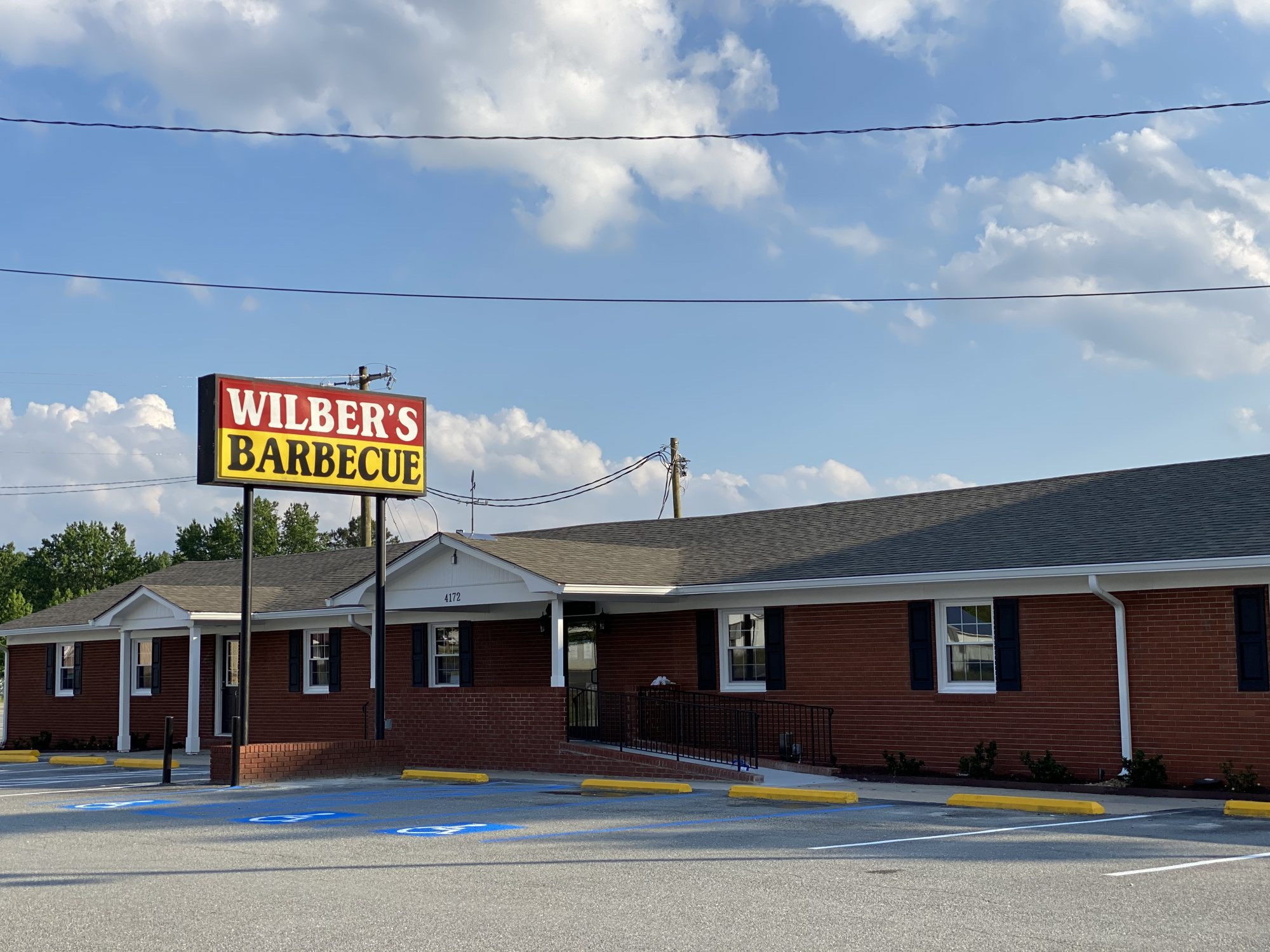 Wilber's Barbecue in Goldsboro, NC