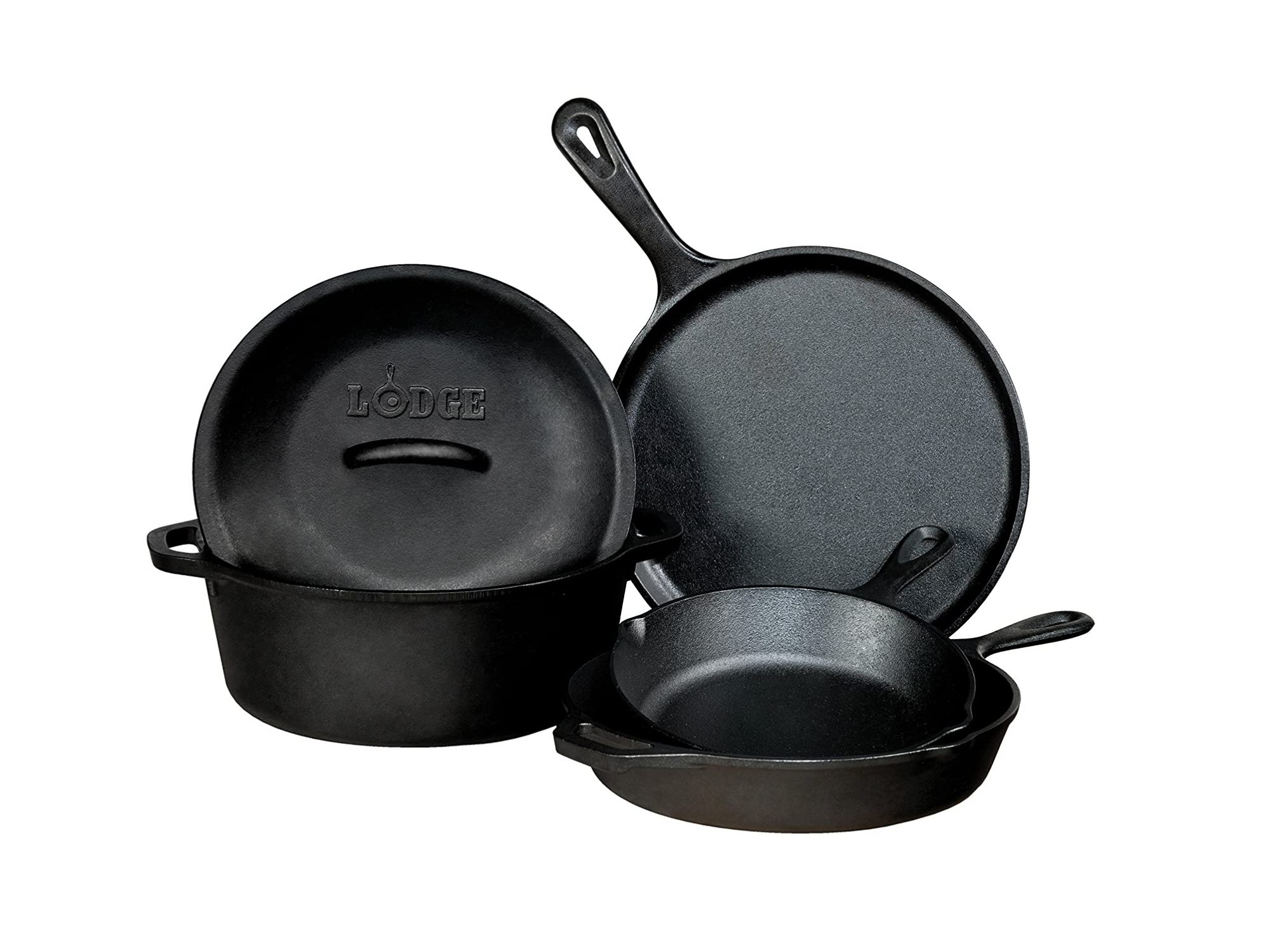 Lodge Cast-Iron Cookware Set
