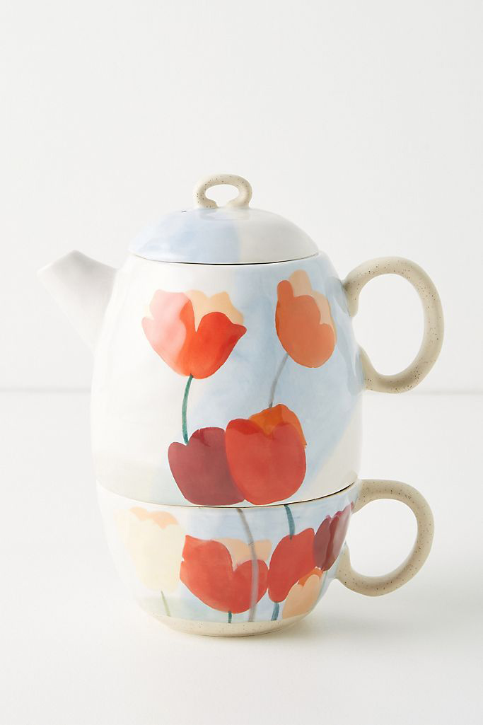 Anthropologie Tea for one Set