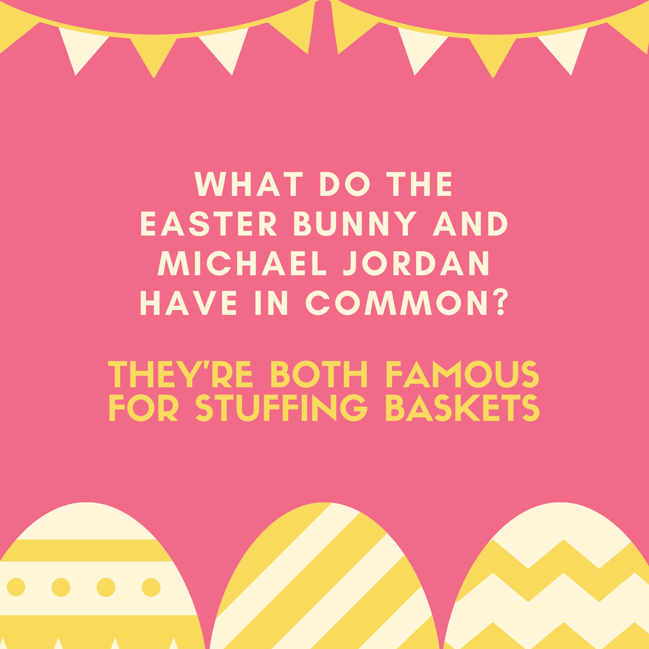 What do the Easter Bunny and Michael Jordan have in common?