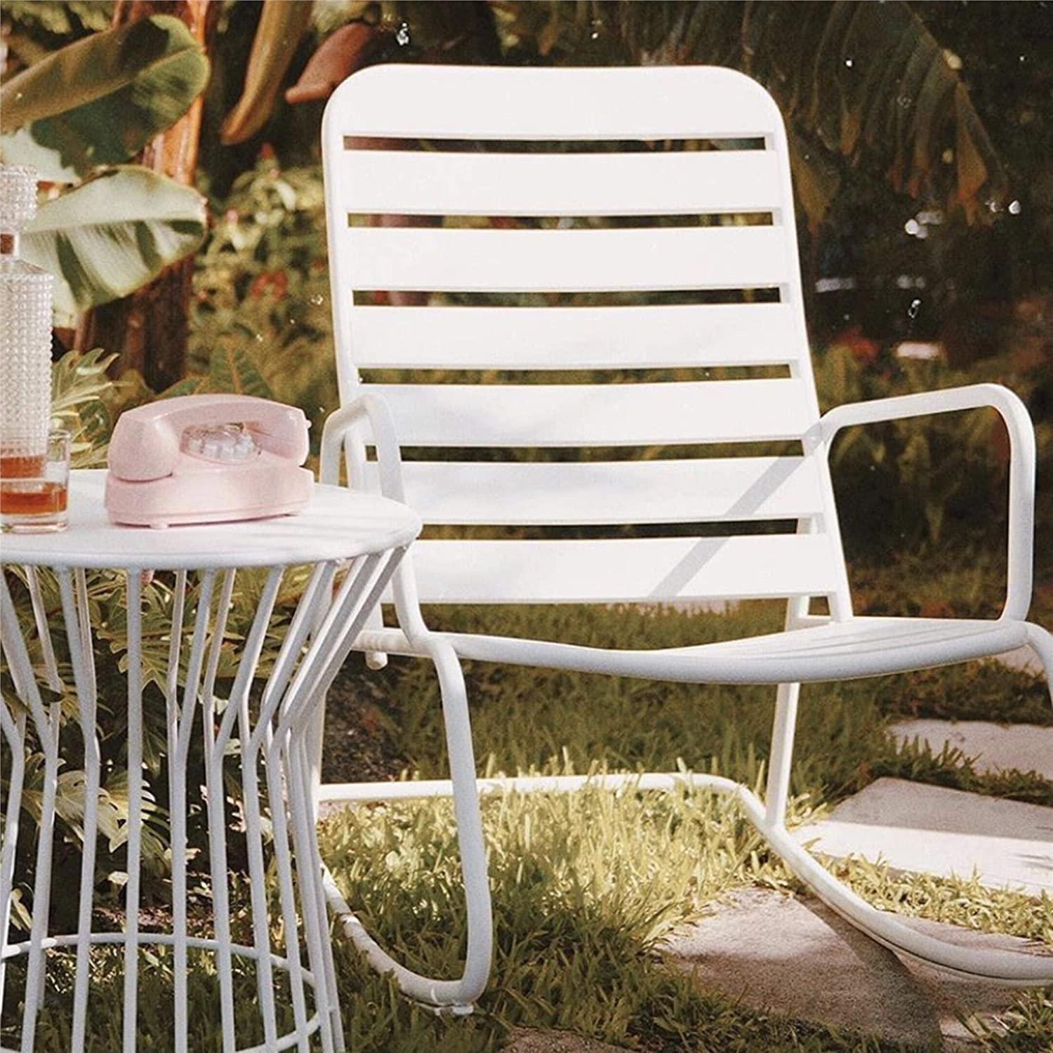 Novogratz Metal Patio Chair Amazon