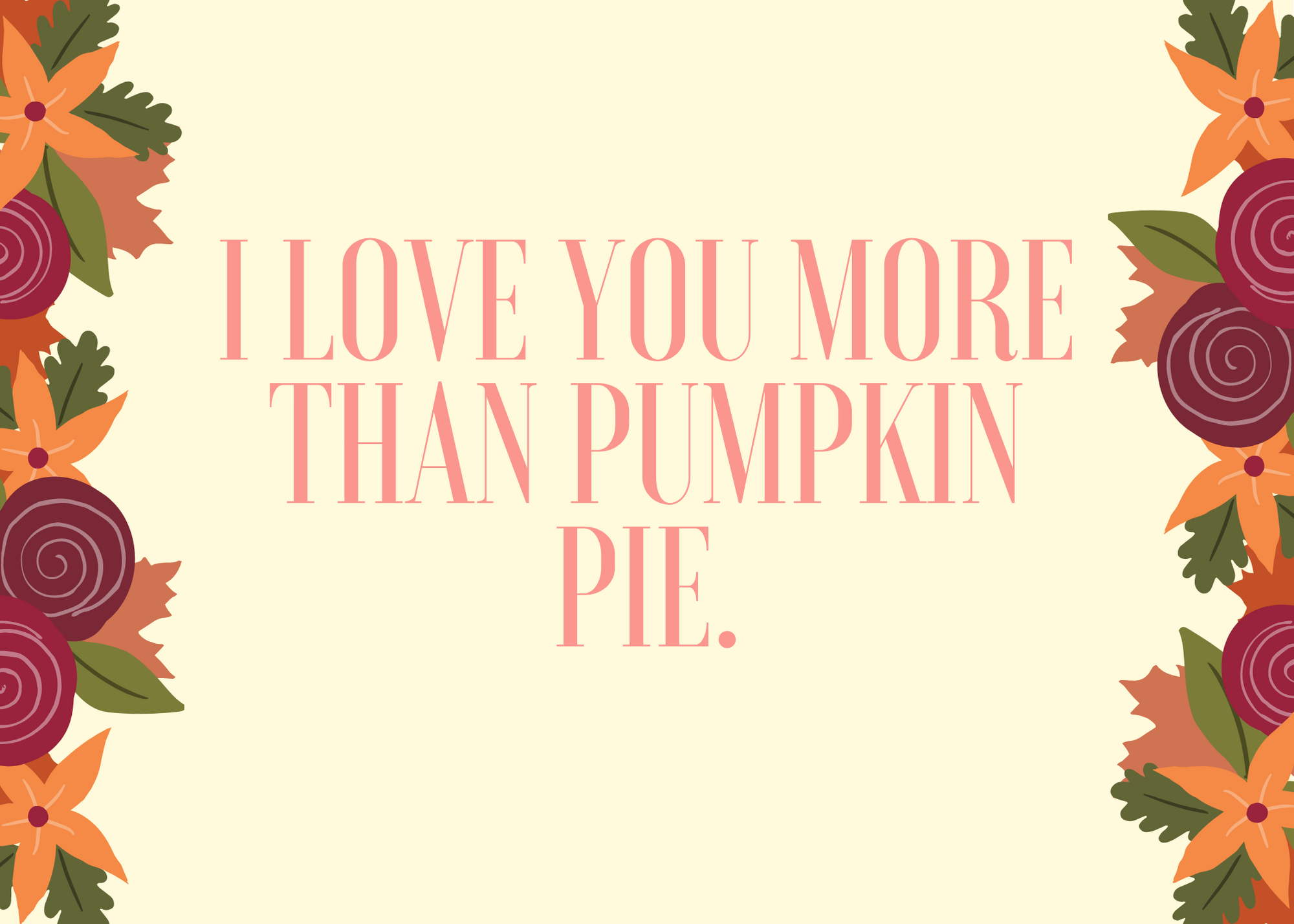 Funny Fall Instagram Caption About Pumpkin Pie