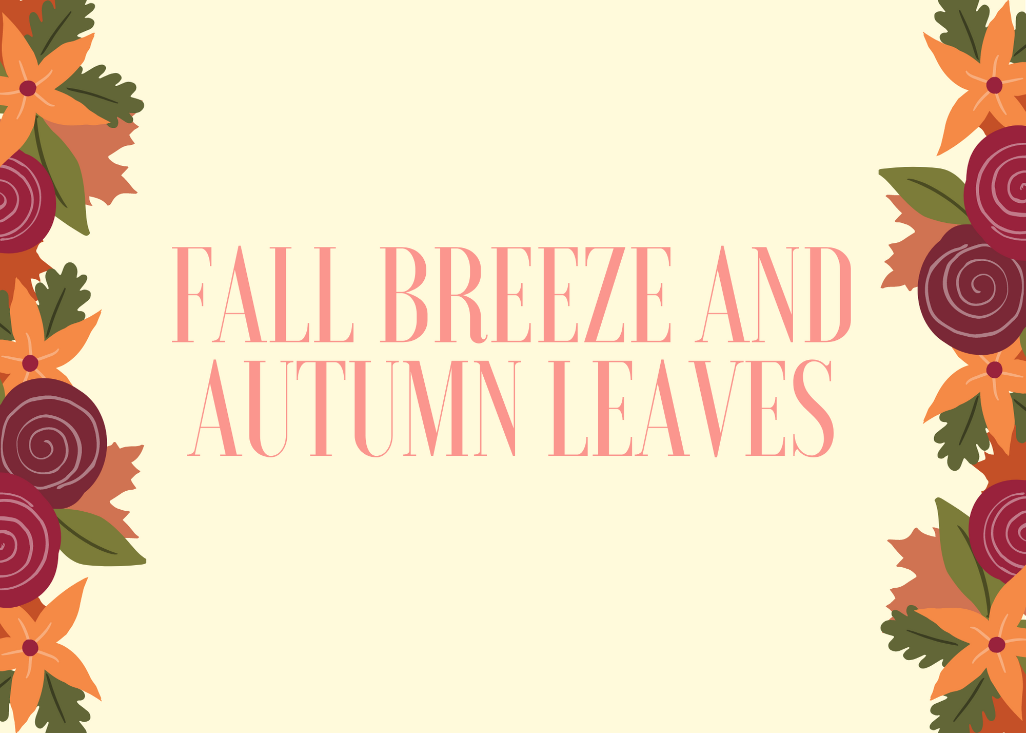 Funny Fall Instagram Caption About Fall Breeze