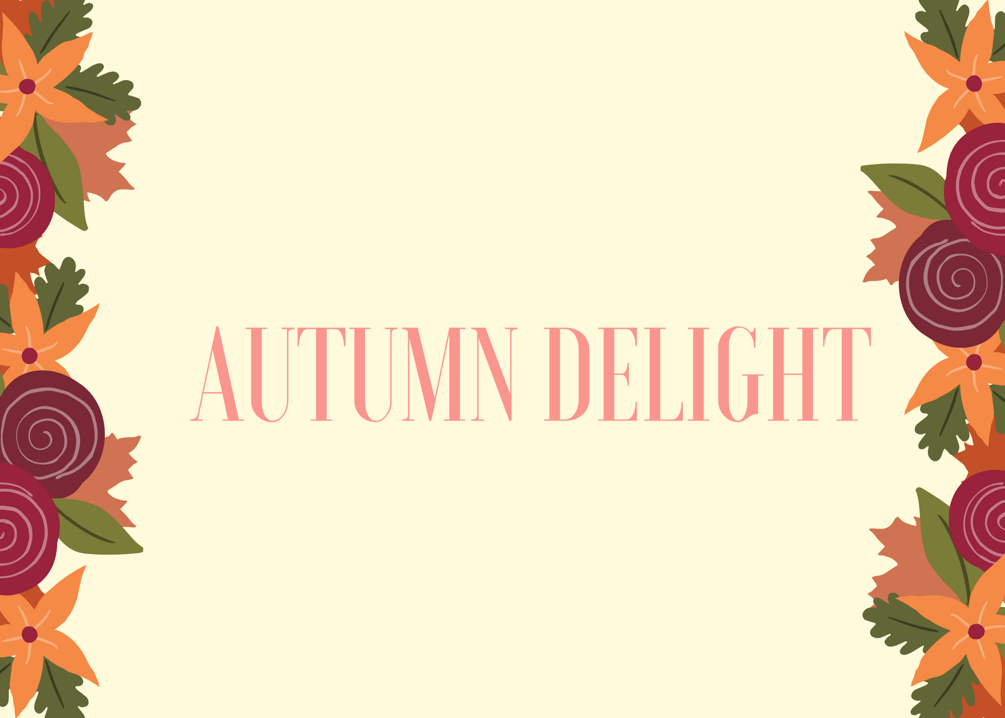 Funny Fall Instagram Caption About Autumn Delight