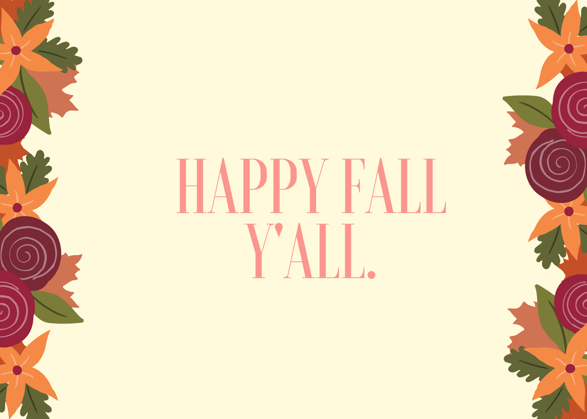 Funny Fall Instagram Caption About Happy Fall