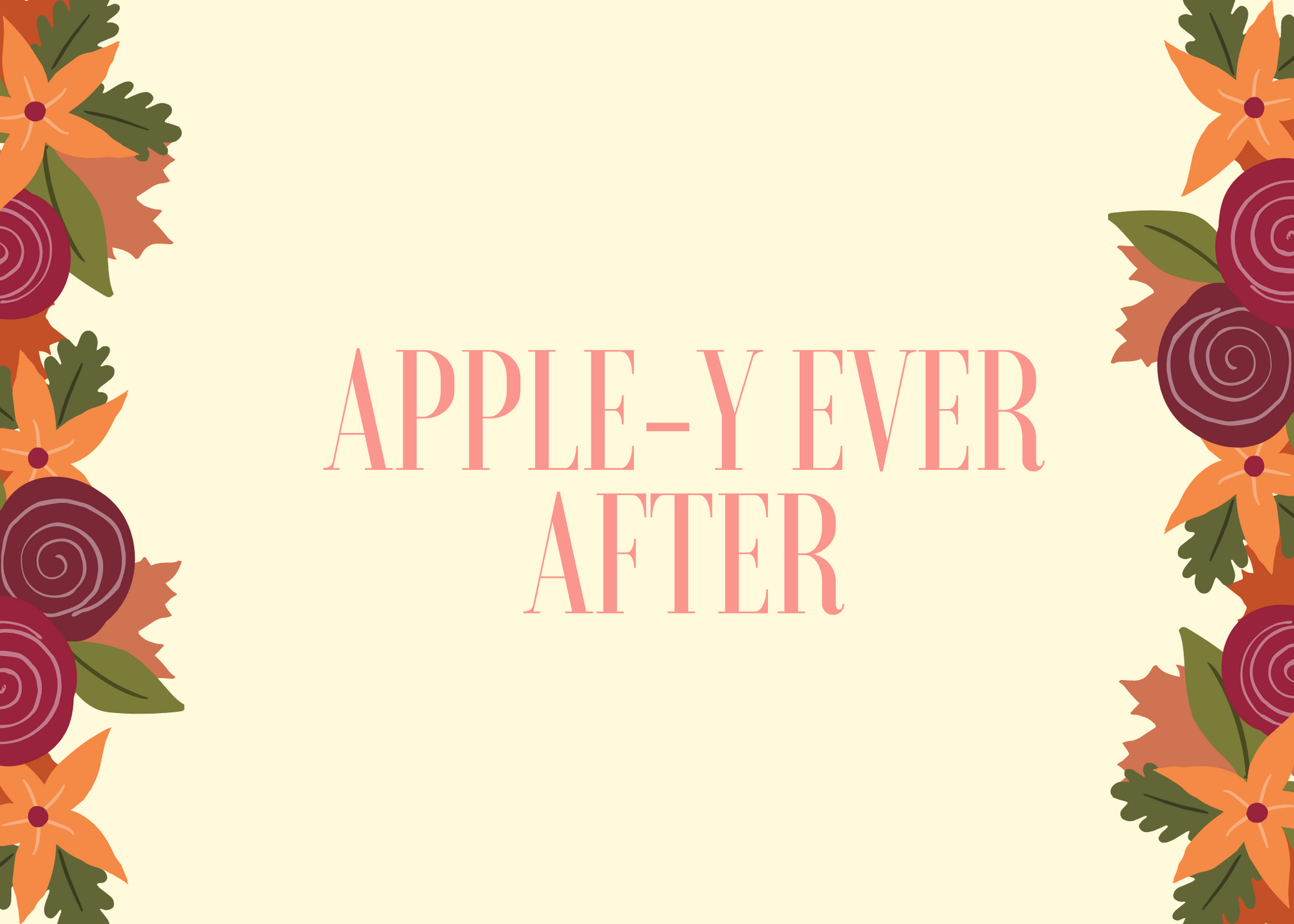Funny Fall Instagram Caption About Ever After