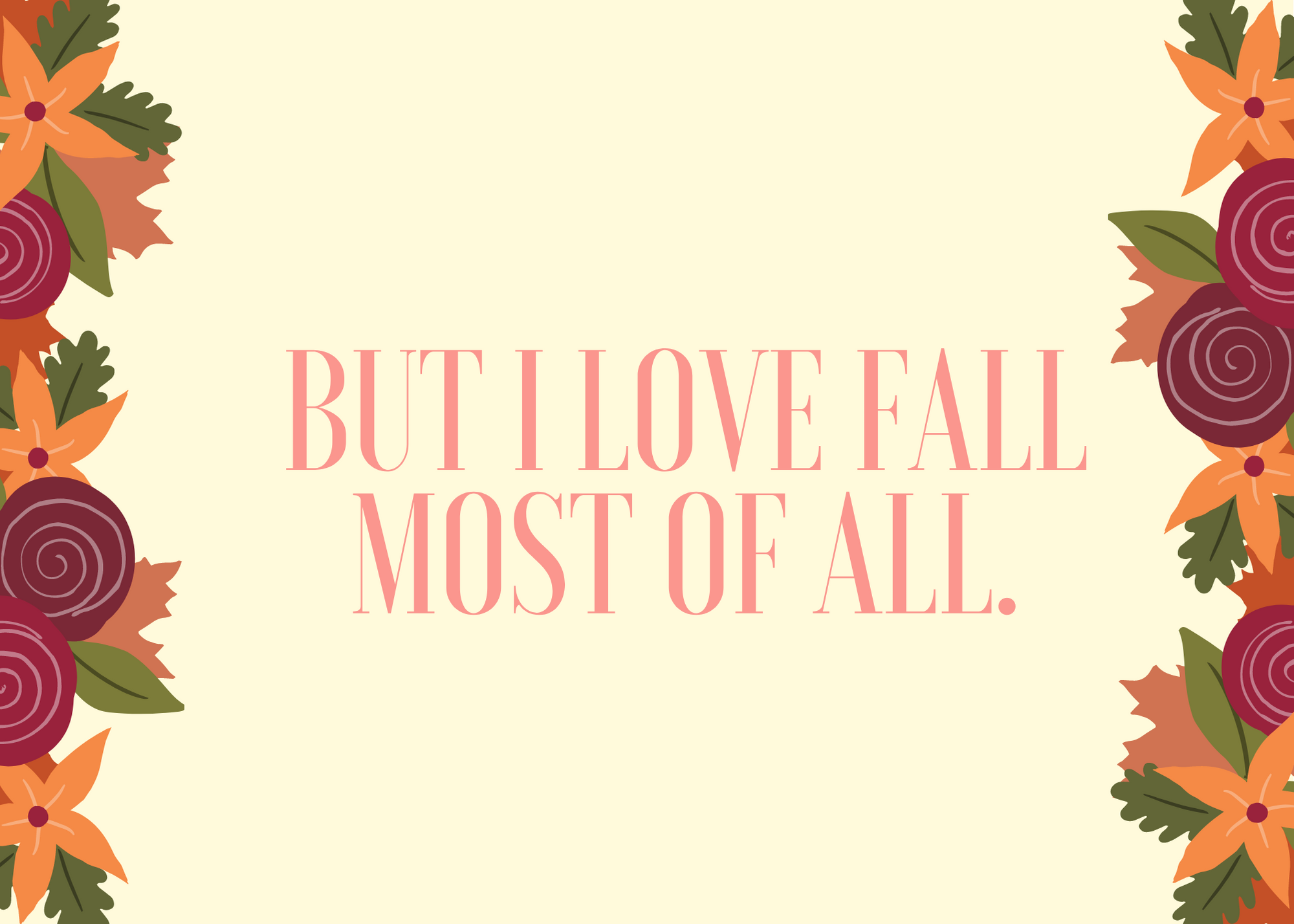 Funny Fall Instagram Caption About Love