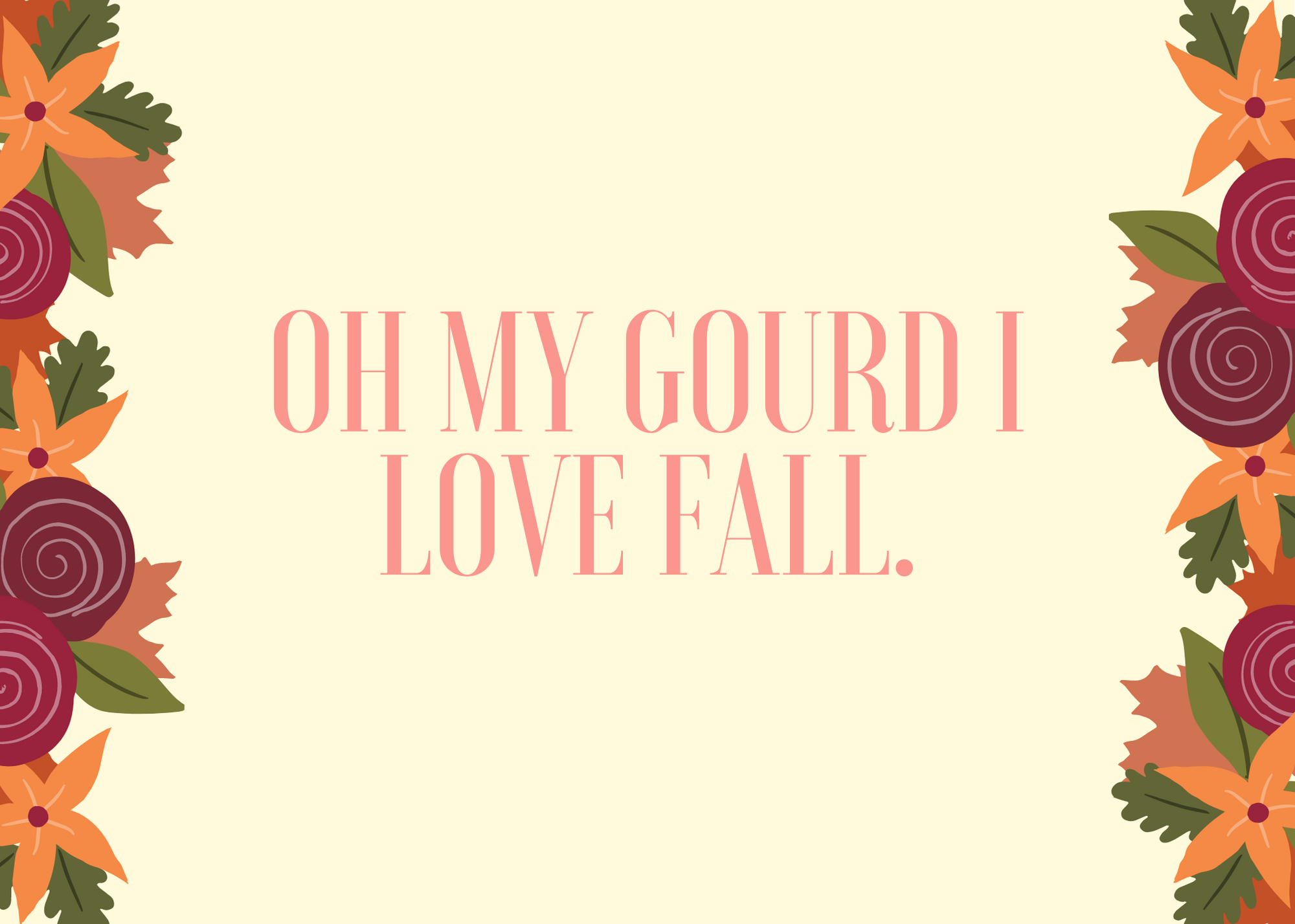 Funny Fall Instagram Caption About Gourds