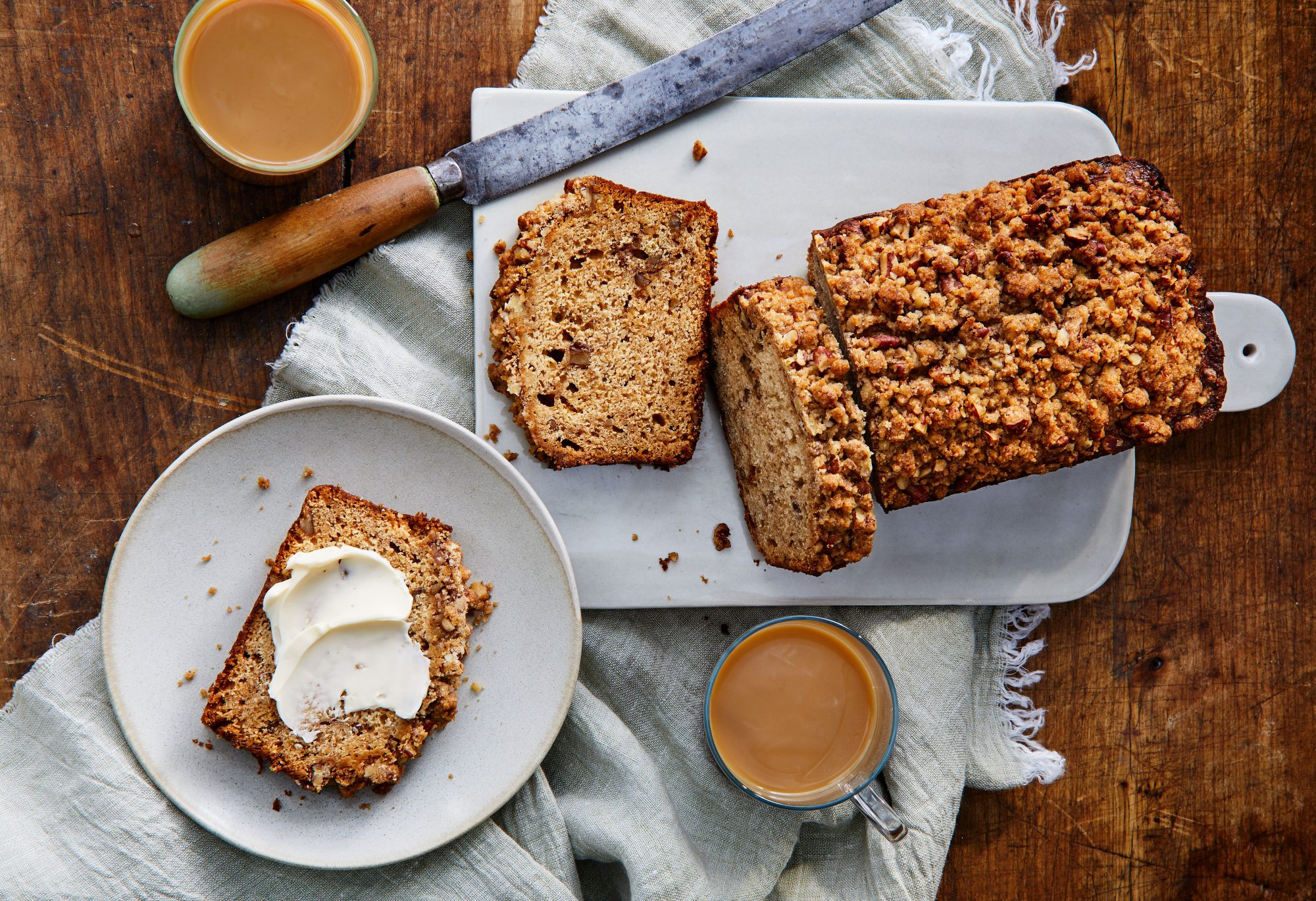 Apple Butter-Pecan Quick Bread