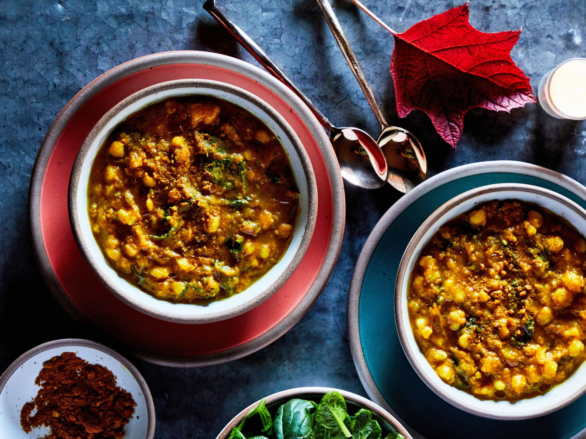 Peanut-Pumpkin Stew with Hominy