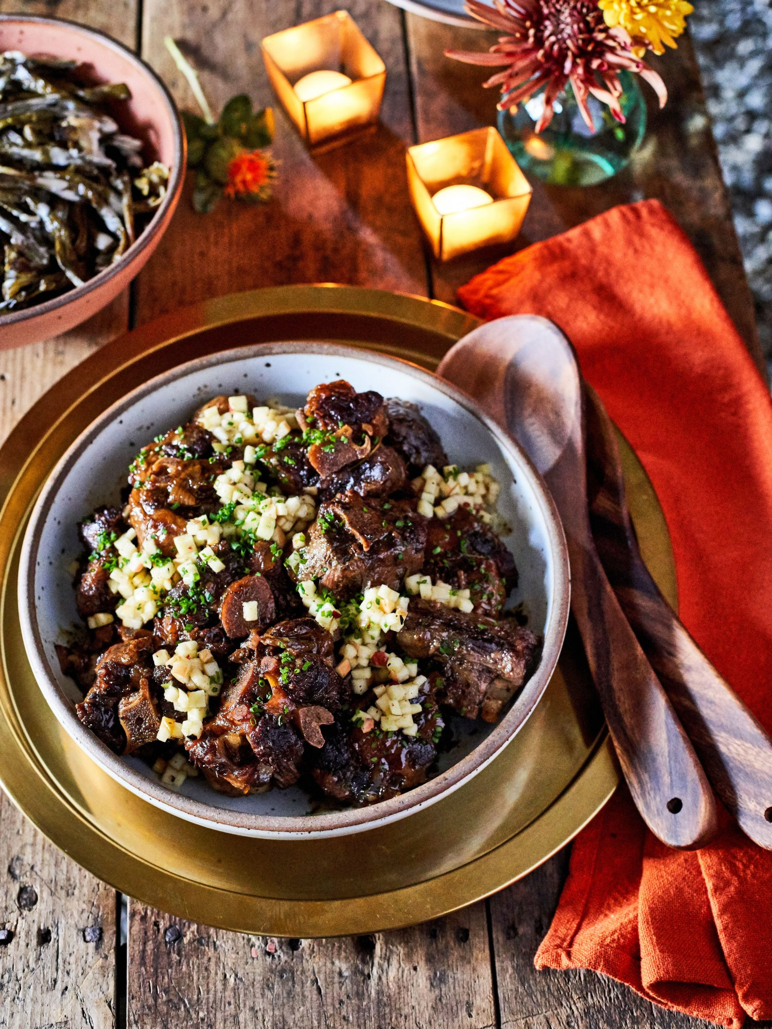 Ashleigh Shanti's Oxtails with Sumac-Apple Relish