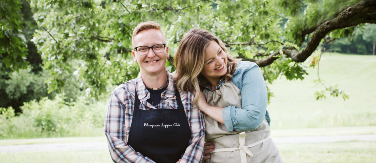 Coby Ming & Damaris Phillips Cooks of the Year 2020