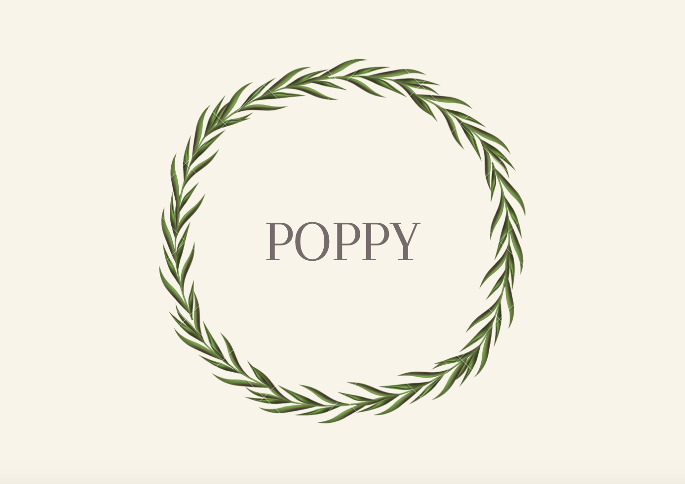 Southern Grandfather Names Poppy