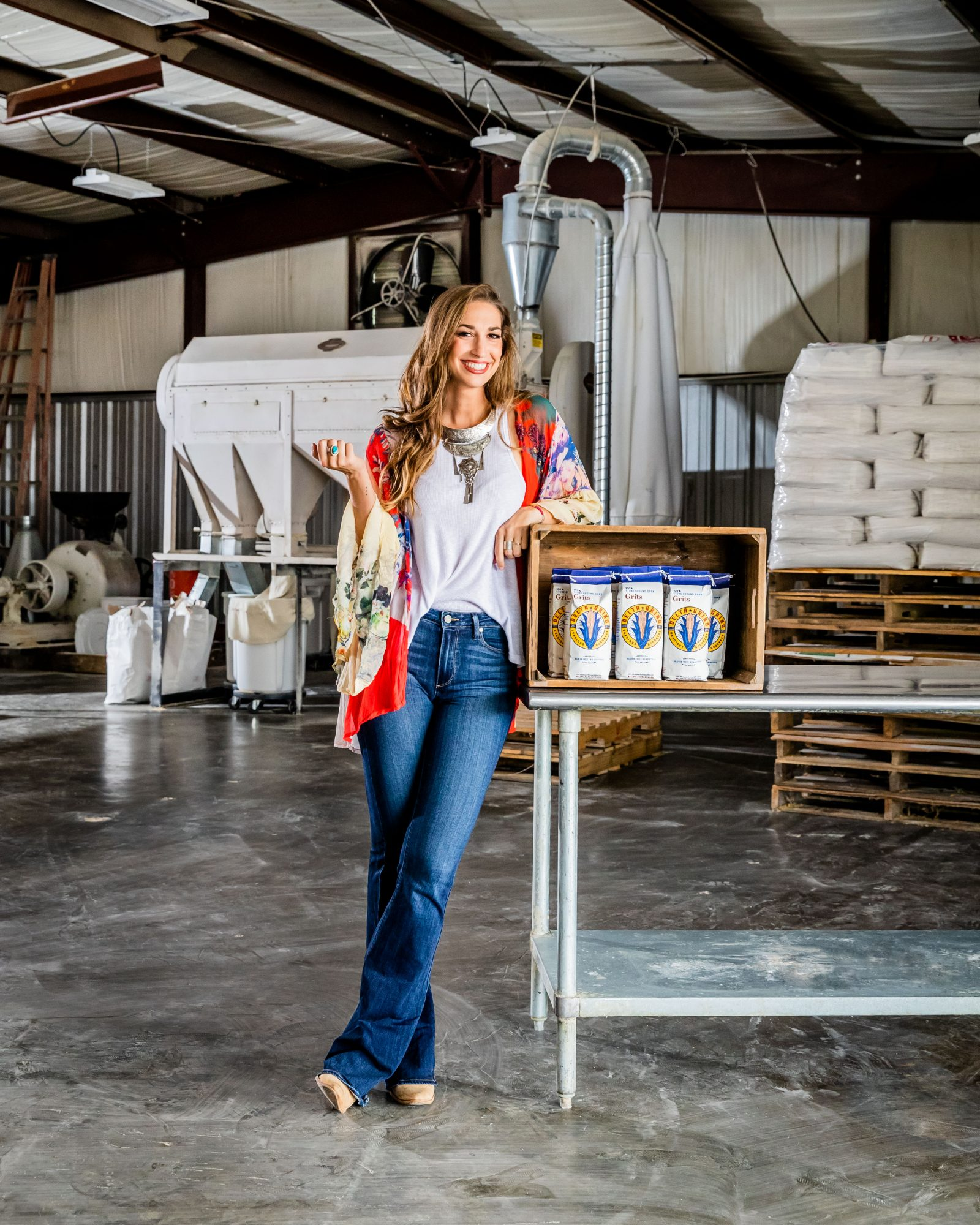 Julia Tatum of Delta Grind in Oxford, MS