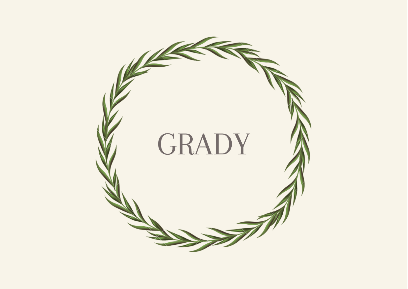 Southern Grandfather Names Grady