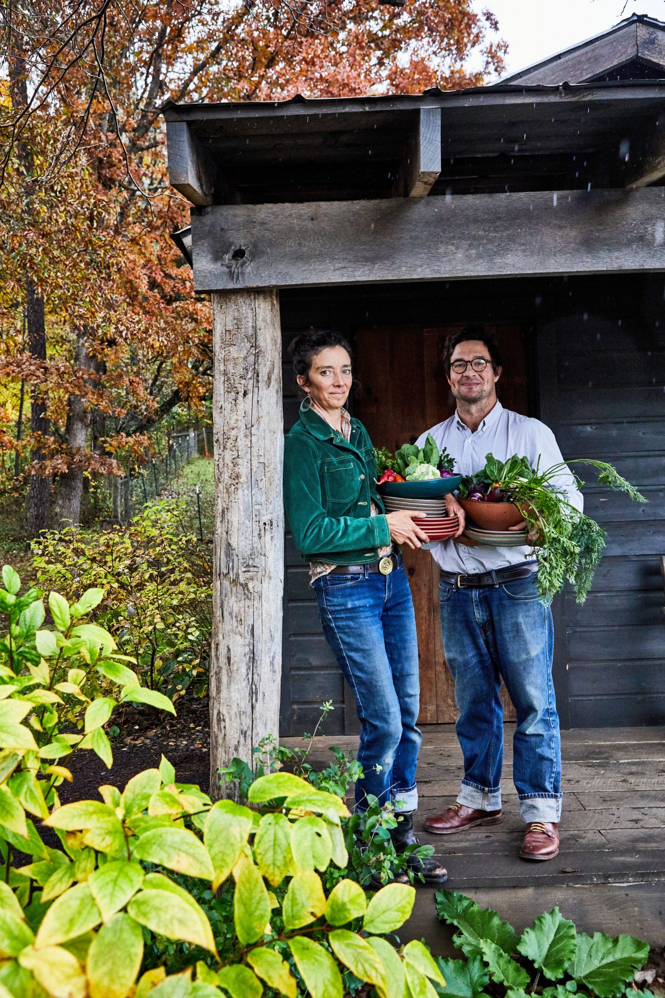 Anne and Aaron Grier of Gaining Ground Farm