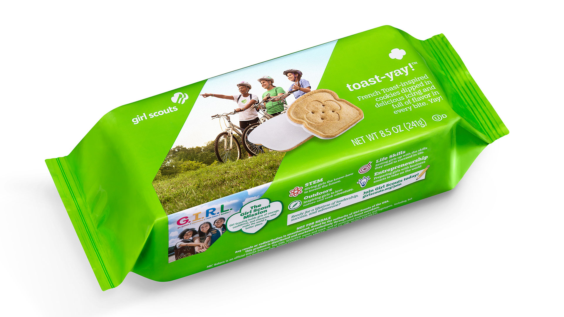 Toast-Yay! Girl Scout Cookies Package
