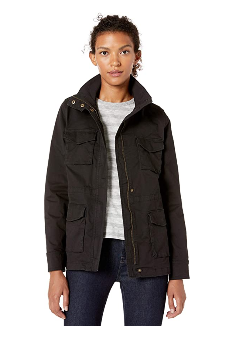 Amazon Essentials Women's Utility Jacket