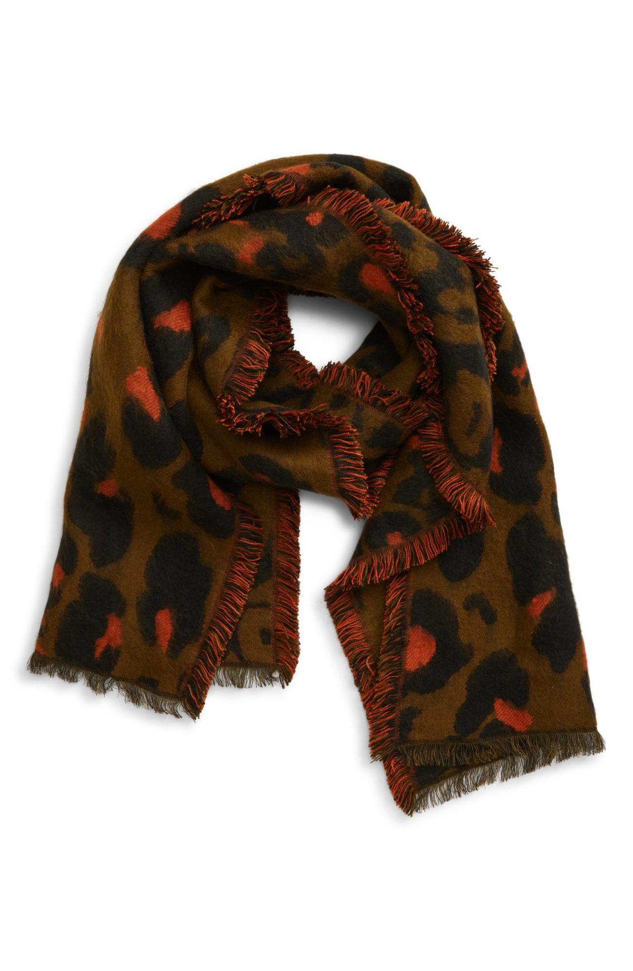 A Fun Scarf: Madewell Jungle Cat Scarf