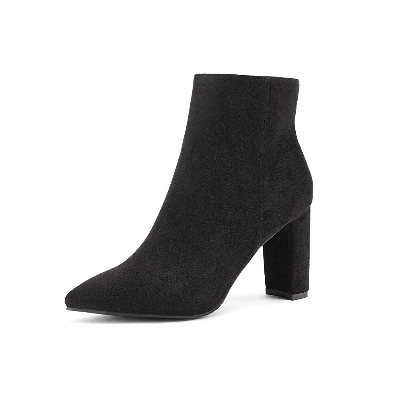 The Classic Black Bootie