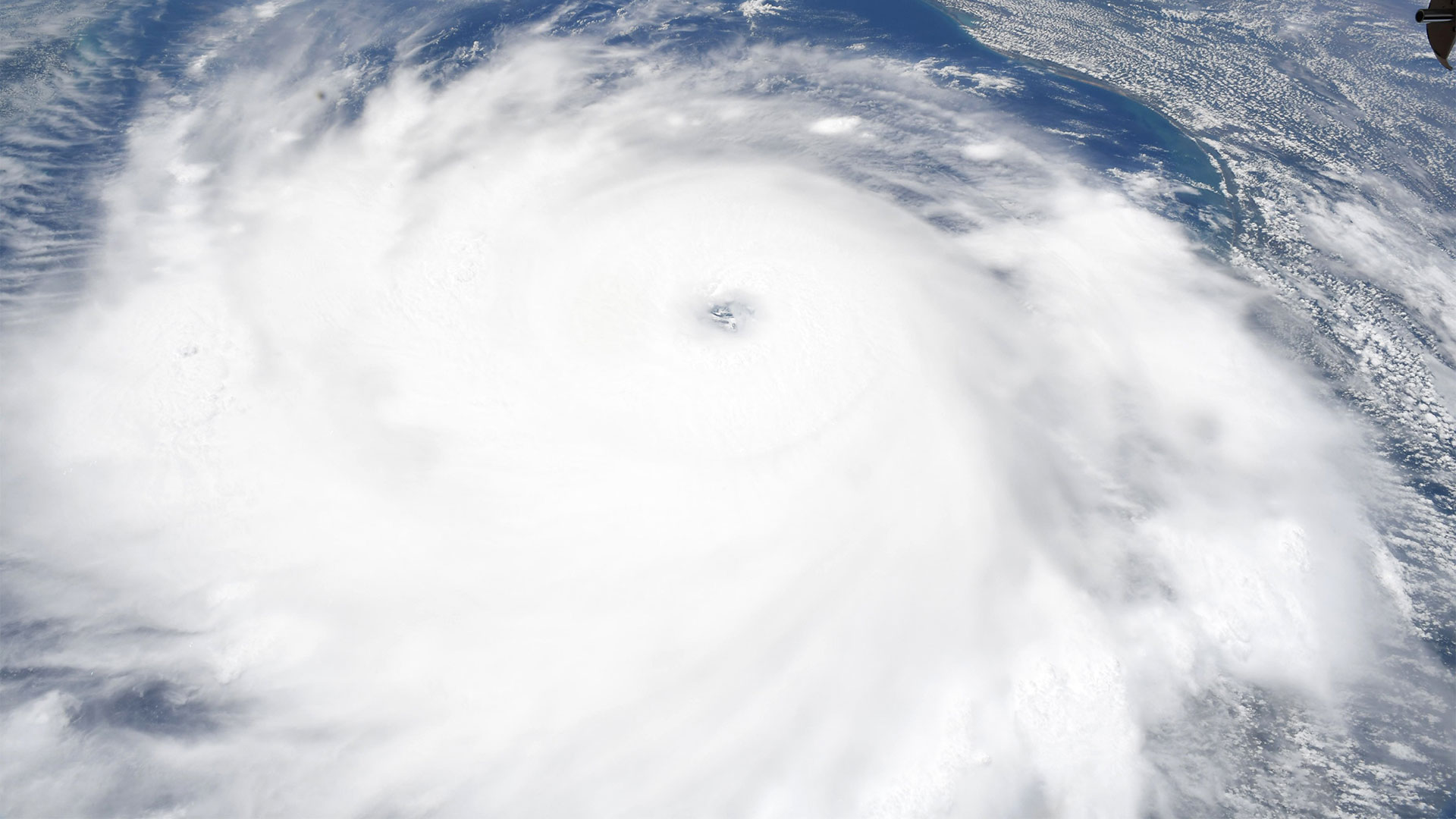 Hurricane Laura from Space