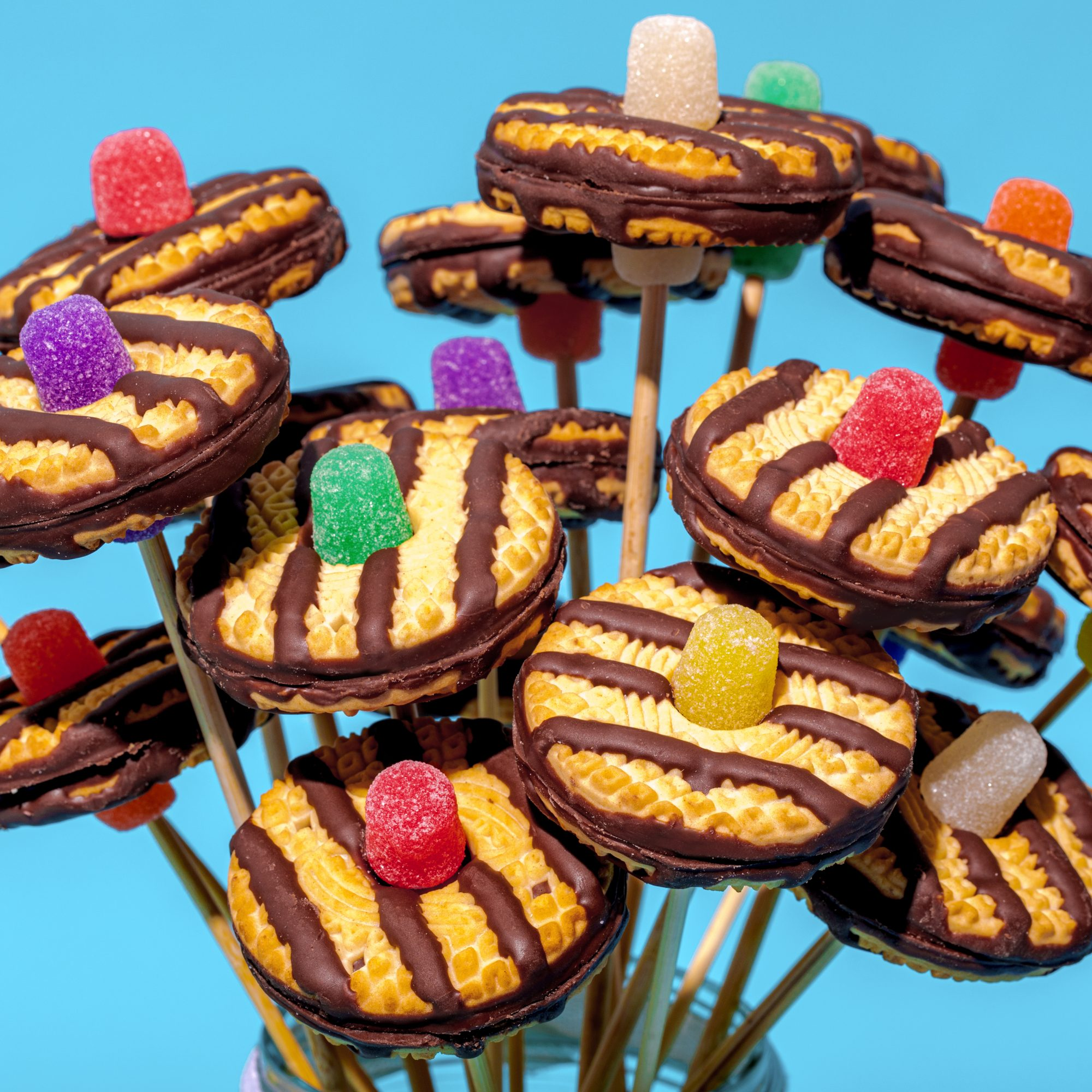 Keebler Fudge Stripes Cookie Bouquet - Edit 03