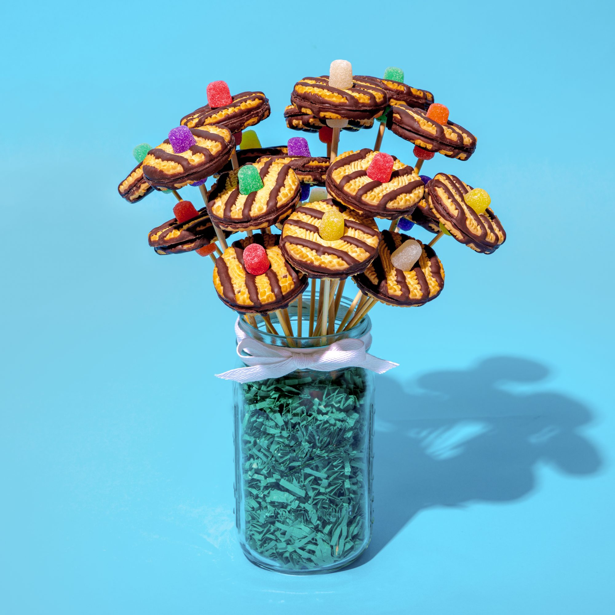 Keebler Fudge Stripes Cookie Bouquet - Edit 05