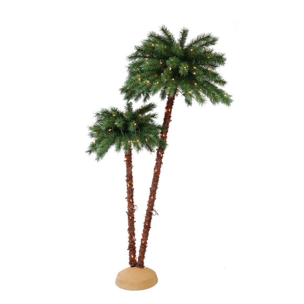 The Home Depot Pre-Lit Artificial Palm Tree