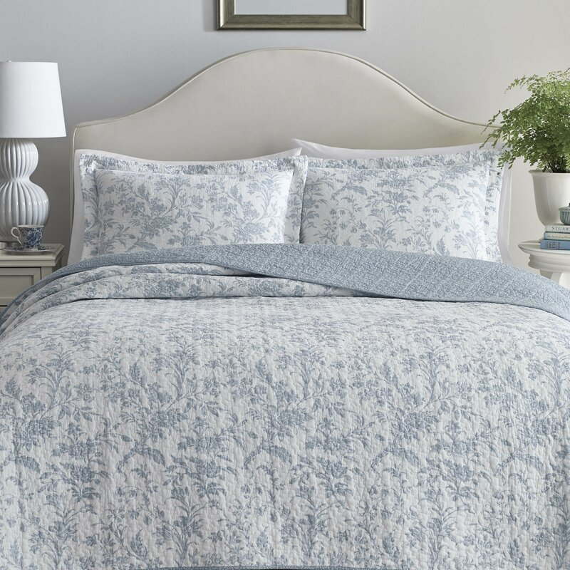 This Laura Ashley Home Reversible Quilt Set Has More Than 6 100 Five Star Reviews Southern Living
