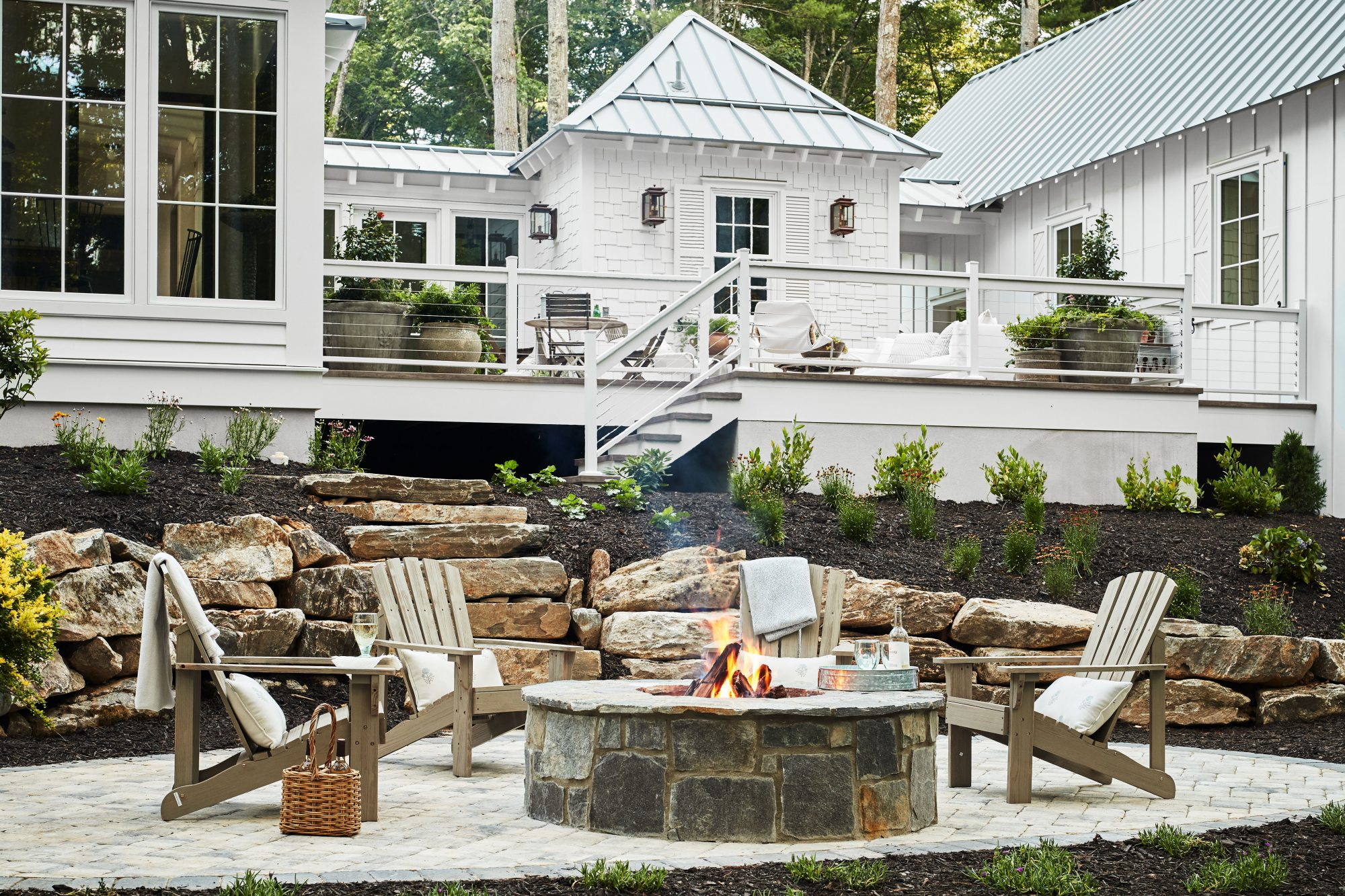 Idea House 2020 Outdoor Firepit