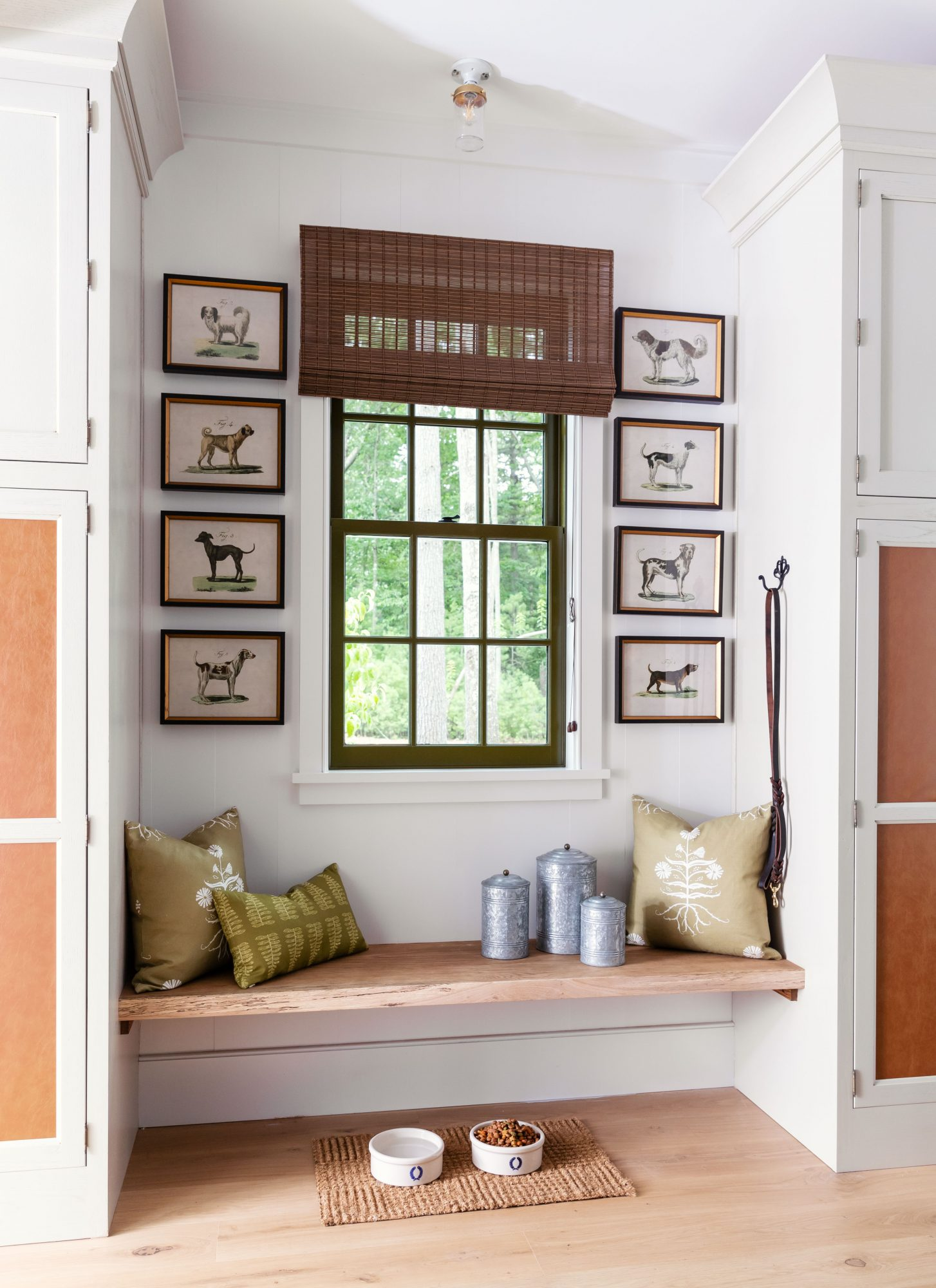 Idea House 2020 Mudroom with Storage and Bench