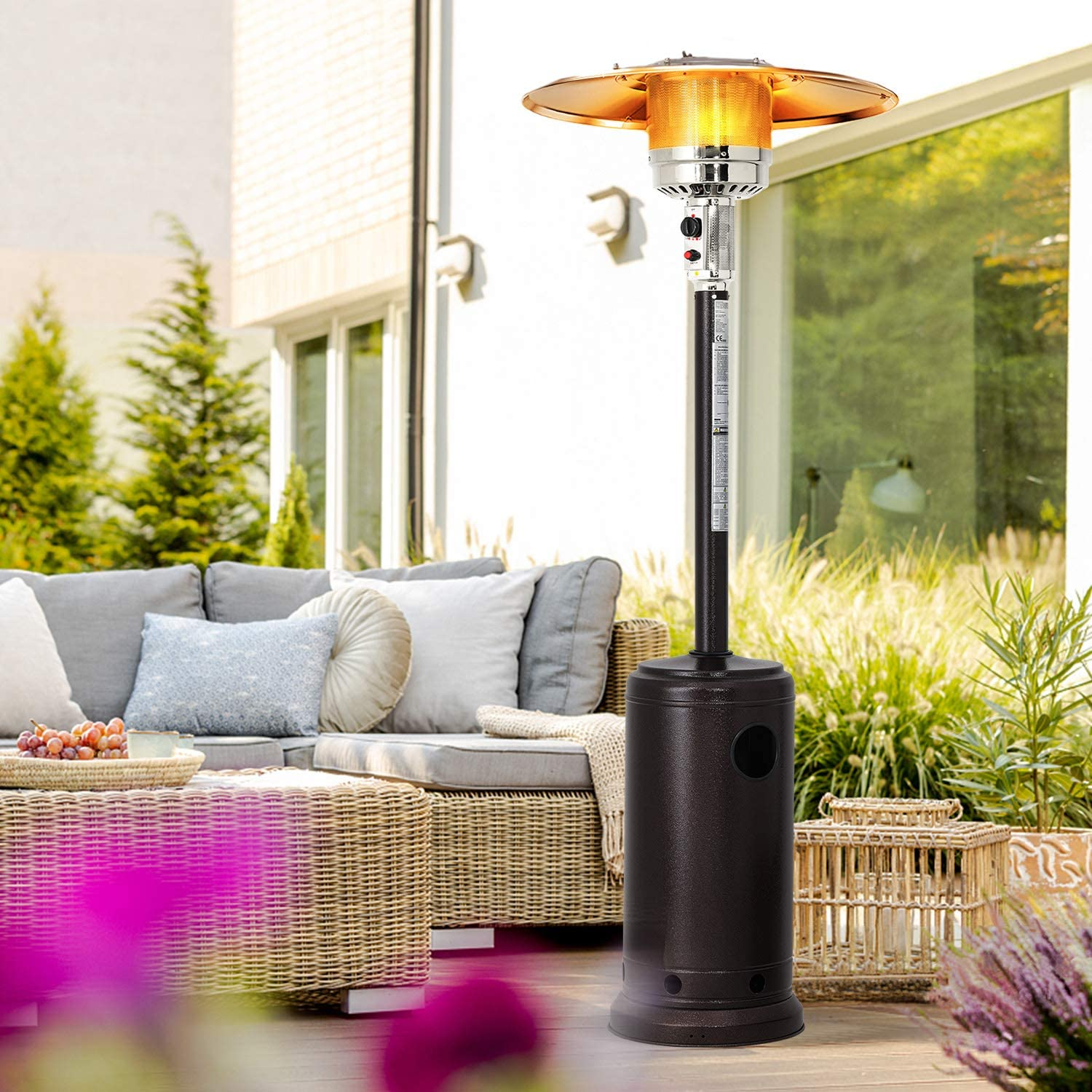 Patiomore Outdoor Tall Propane Heater