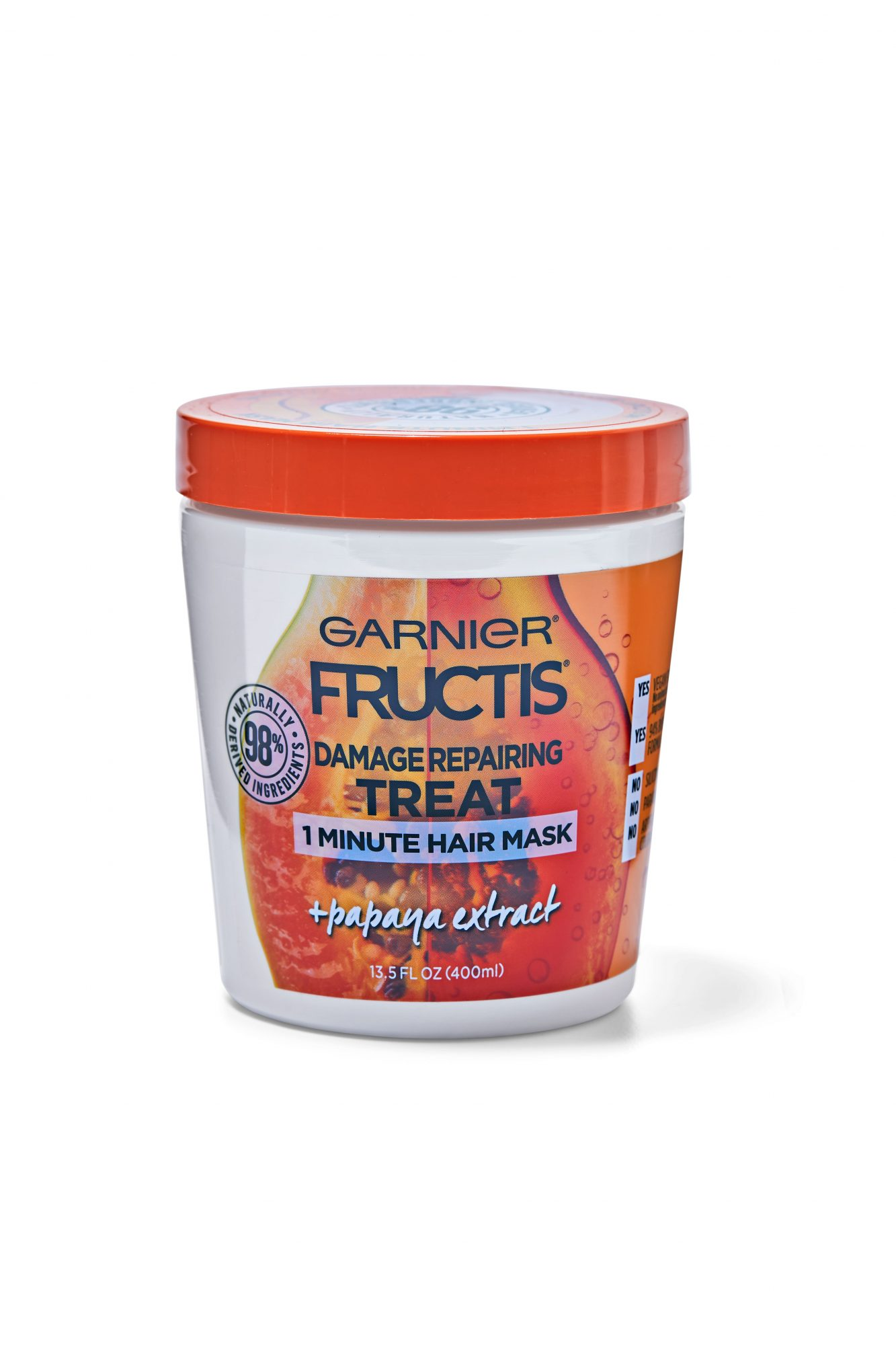 Garnier Fructis Damage Repairing Treat 1 Minute Hair Mask + Papaya Extract