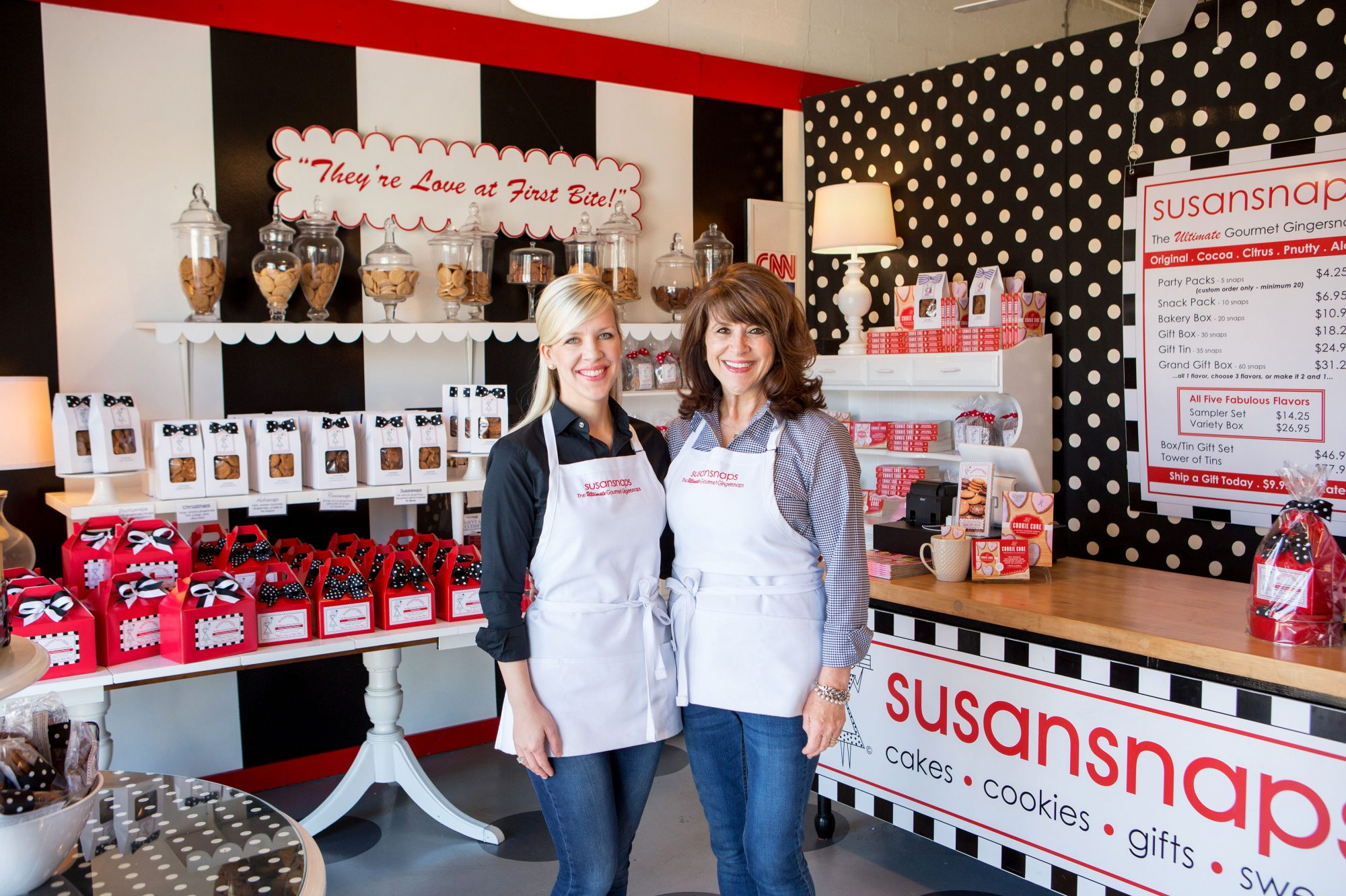 Susan and Laura Stachler of Susansnaps
