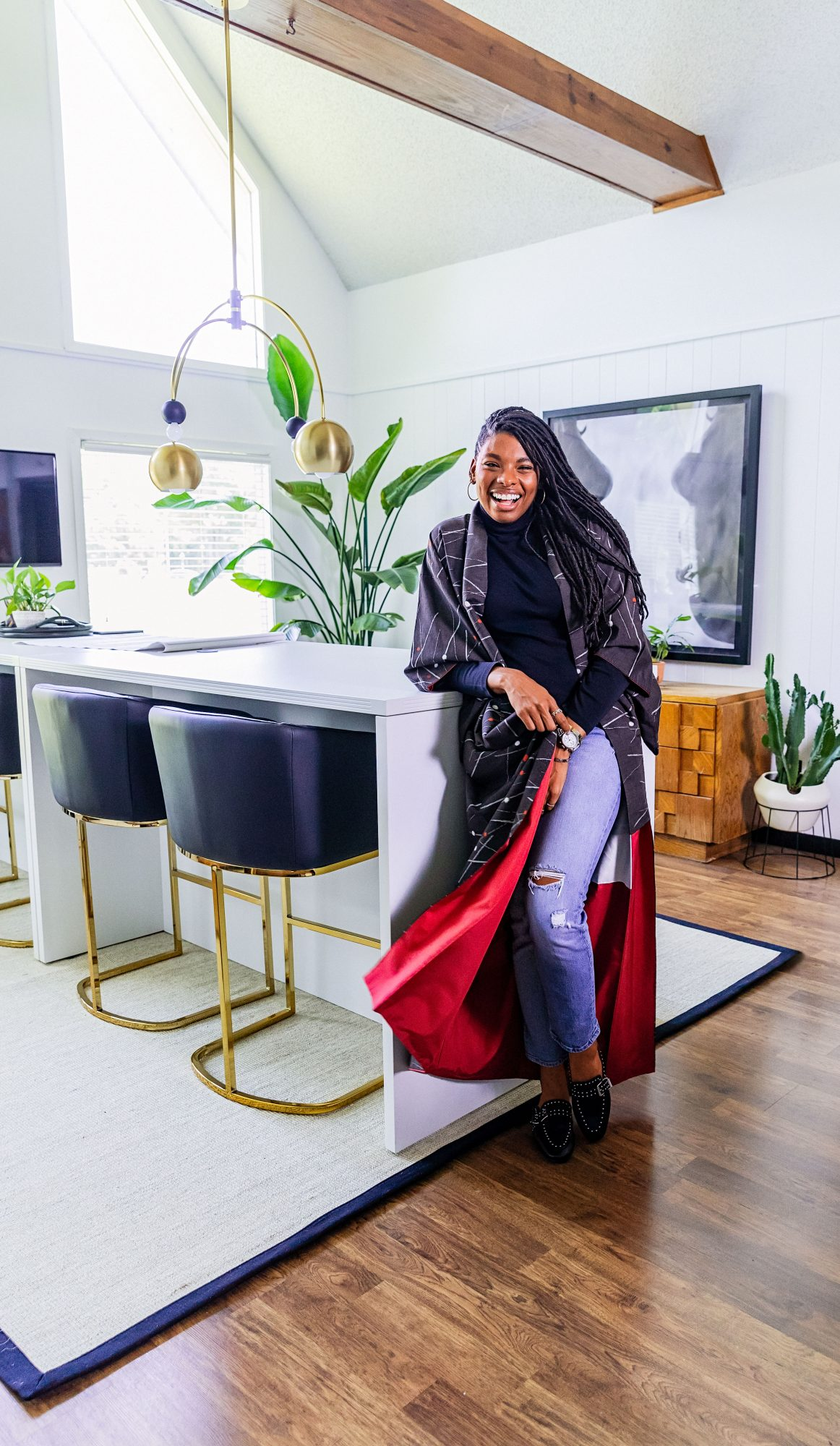 Interior Designer Carmeon Hamilton at Home in Memphis, TN
