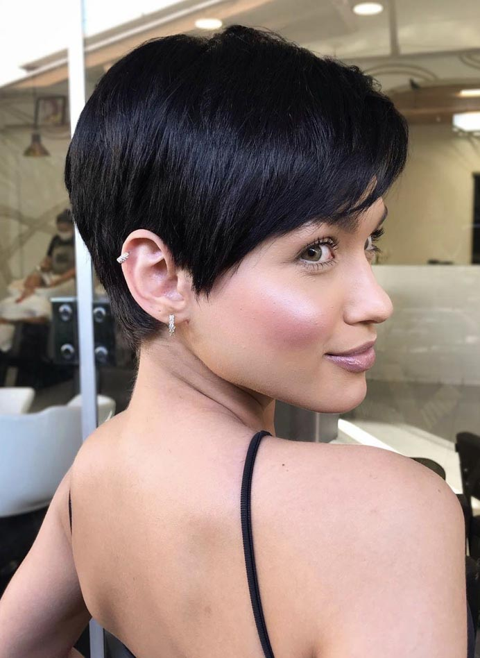Sculpted Crop Cut