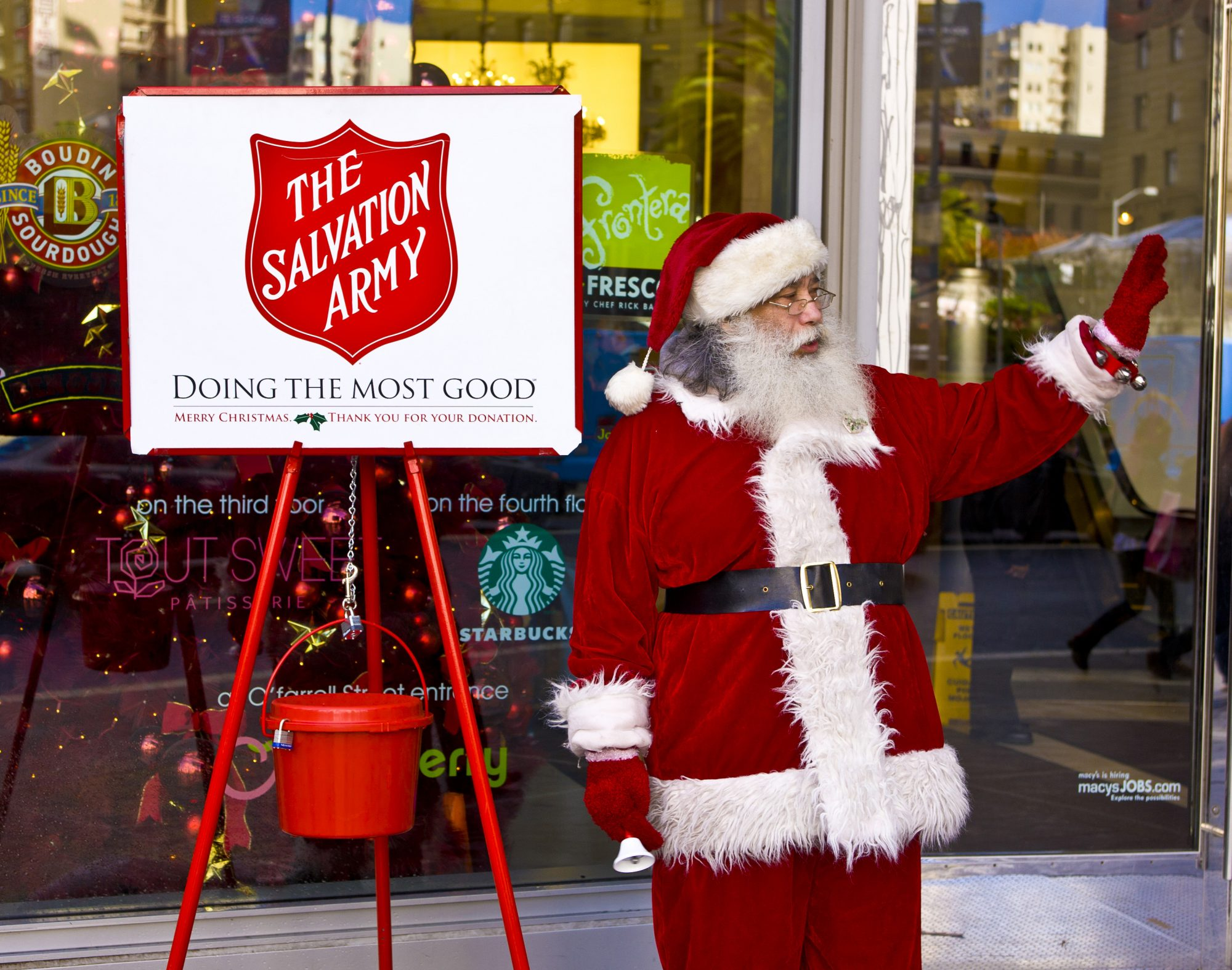 Salvation Army Christmas Kettle