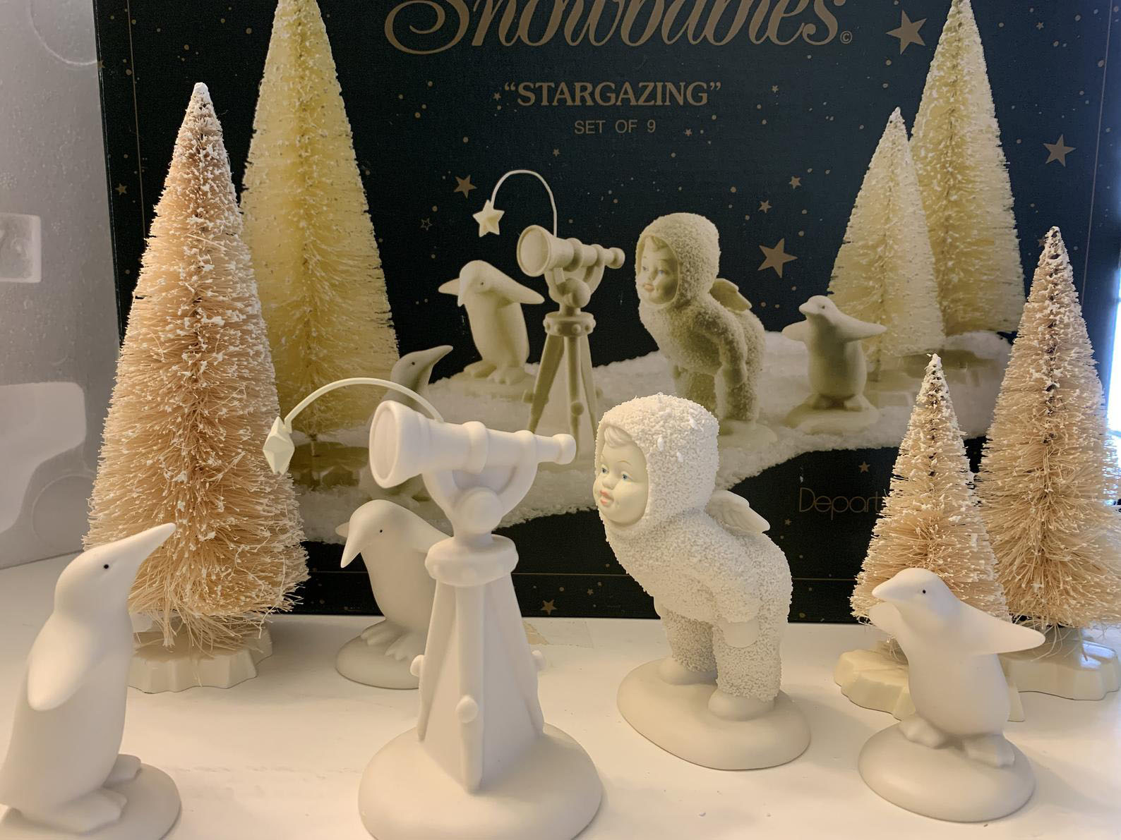 Snowbabies Stargazing Set