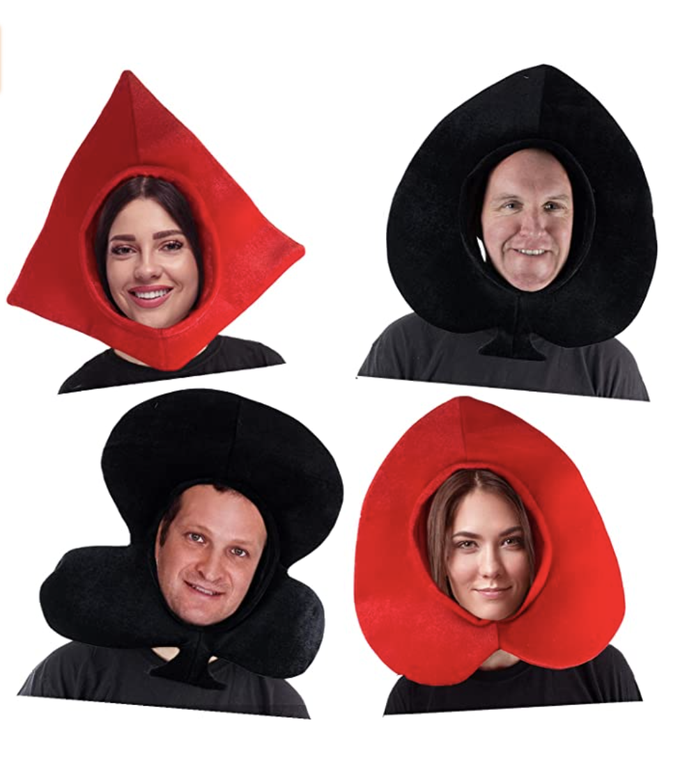 Family Halloween Costumes Playing Cards